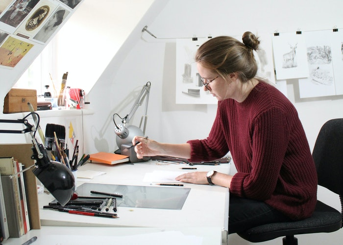 In the studio with Lauren Crow, illustrator for Secret Marvels of the World
