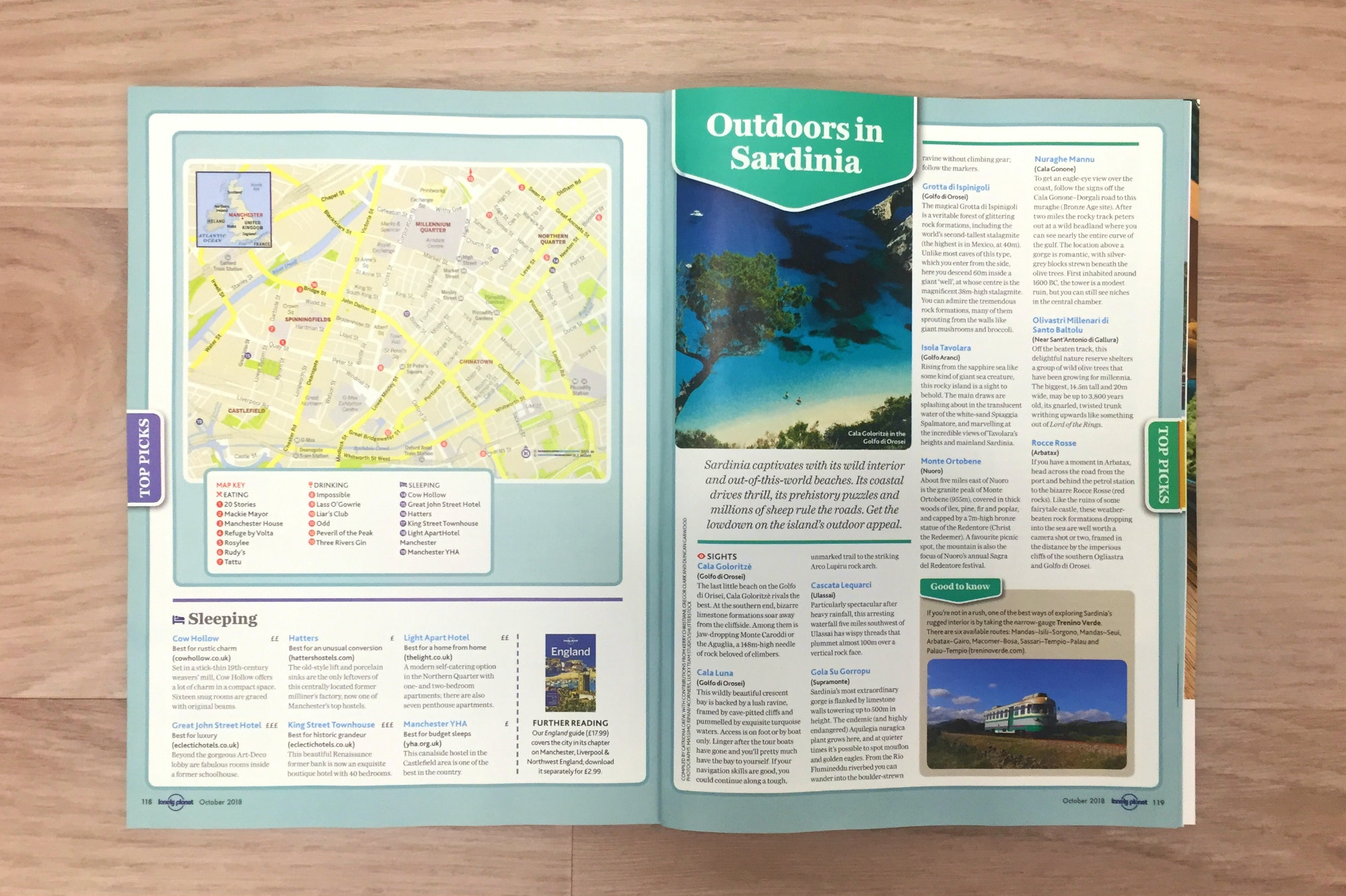 FREE mini-guides: Manchester, Sardinia, Berlin and Goa