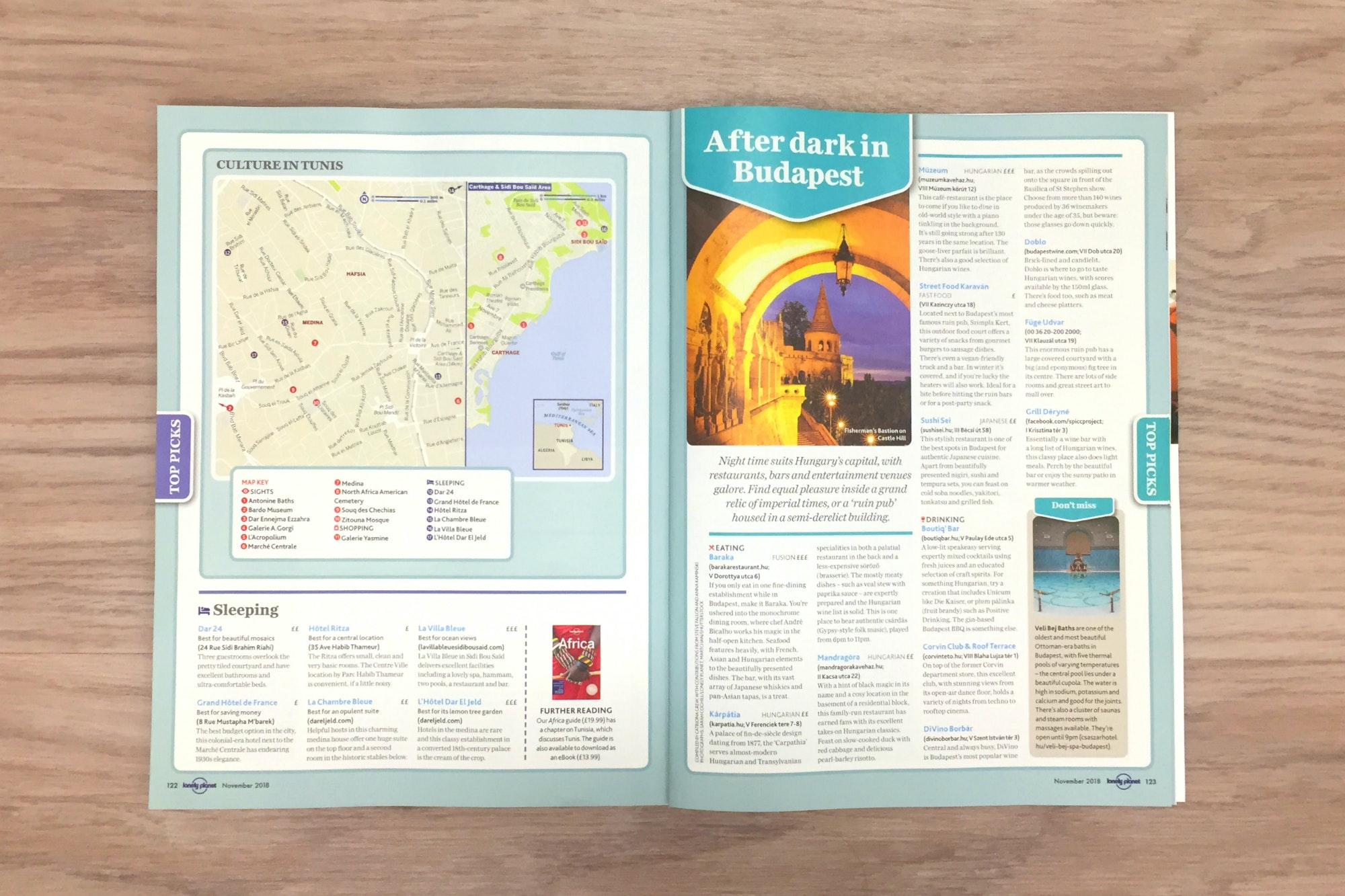 FREE mini-guides: Athens, Tunis, Budapest and Phnom Penh