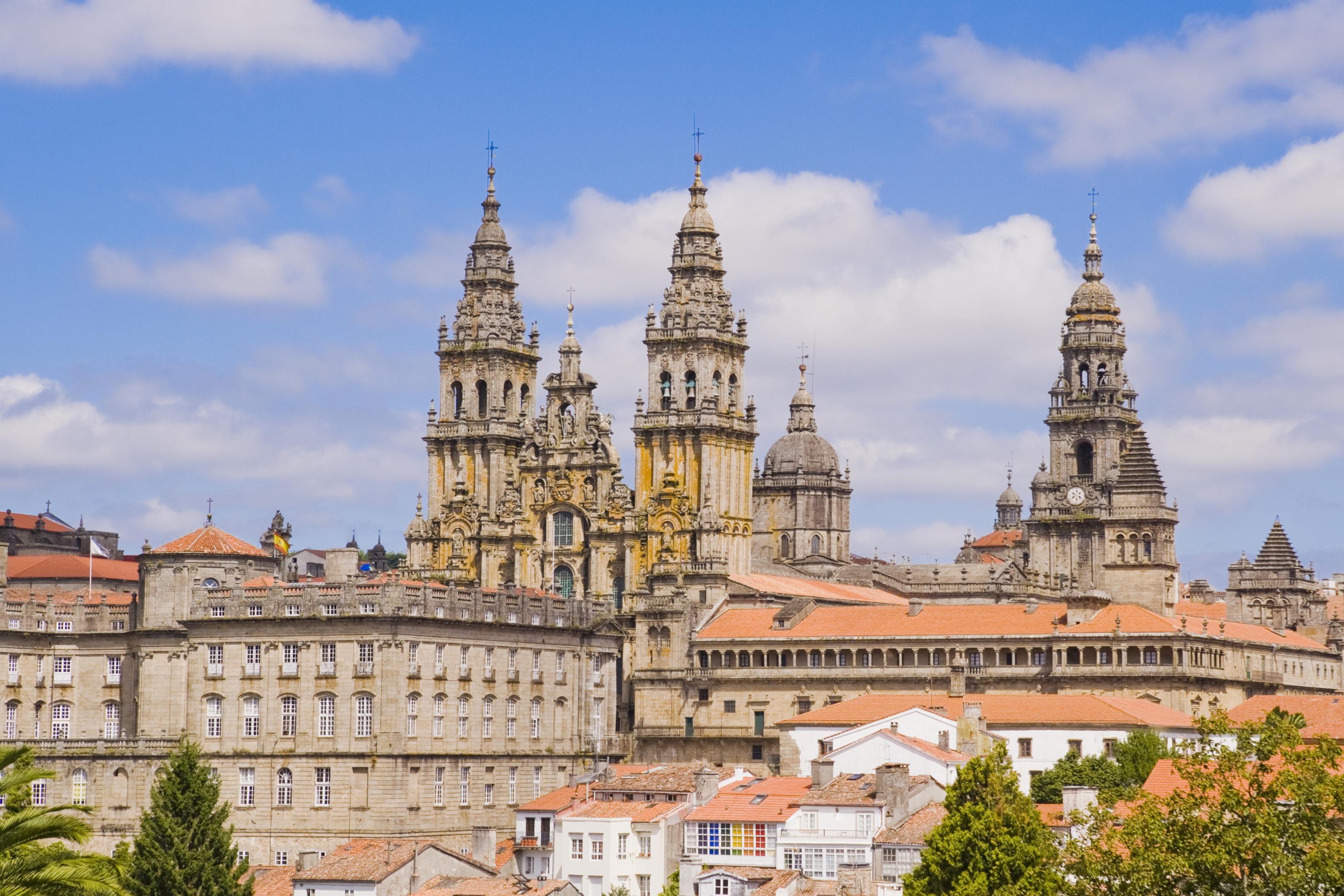 Catedral de Santiago de Compostela in Santiago de Compostela Spain