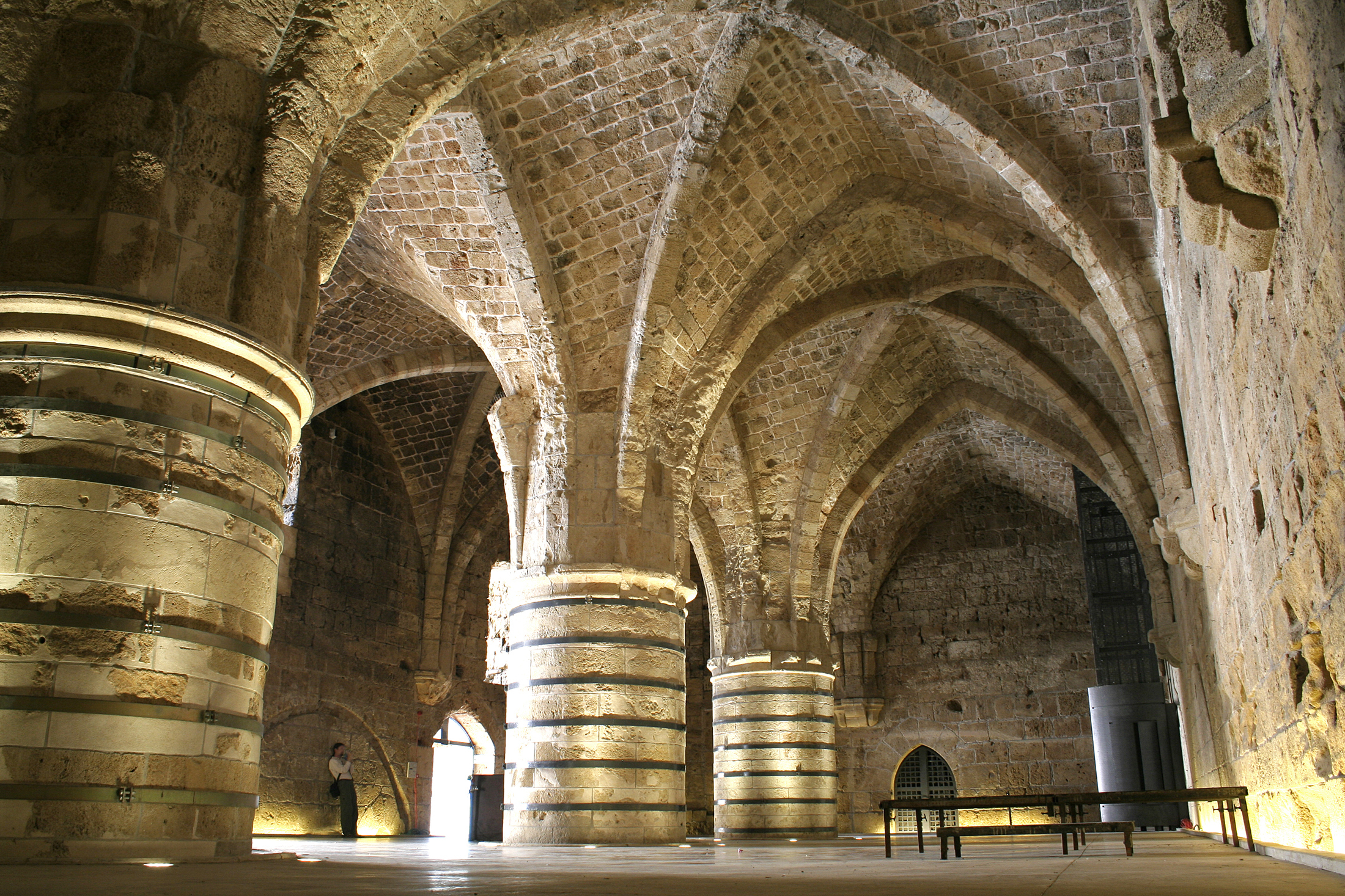 Knights Halls Akko Israel Attractions Lonely Planet