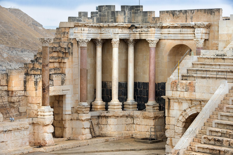 Beit Hebrew: Beit She'an National Park