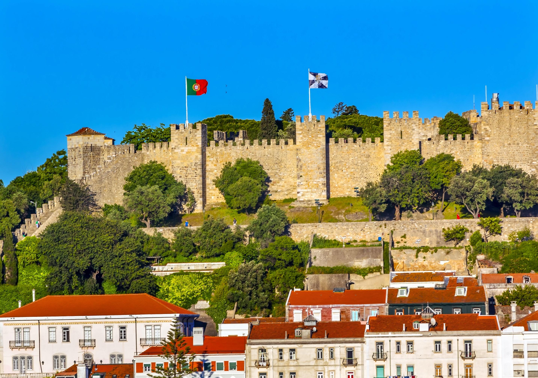 Výsledek obrázku pro Castelo de Sao Jorge -