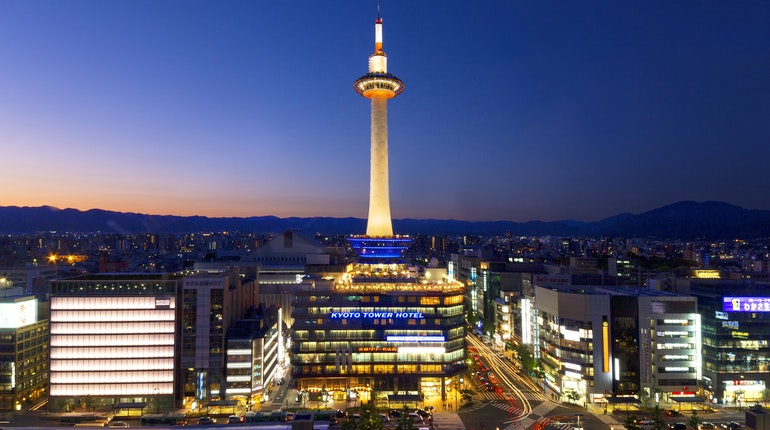 Kyoto Tower Observation Deck in Kyoto, Japan - Lonely Planet