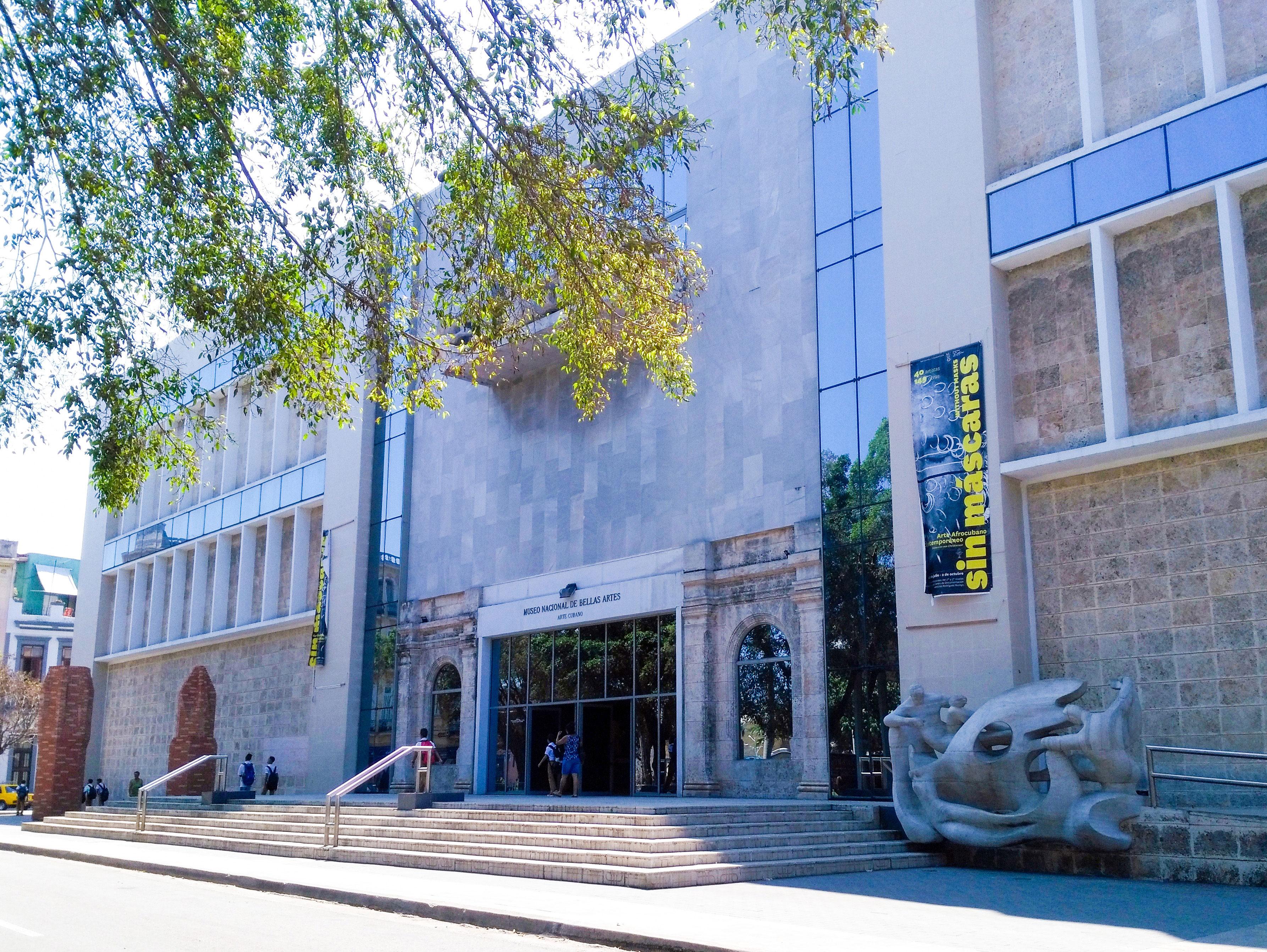 Museo Nacional De Bellas Artes Arte Cubano Havana