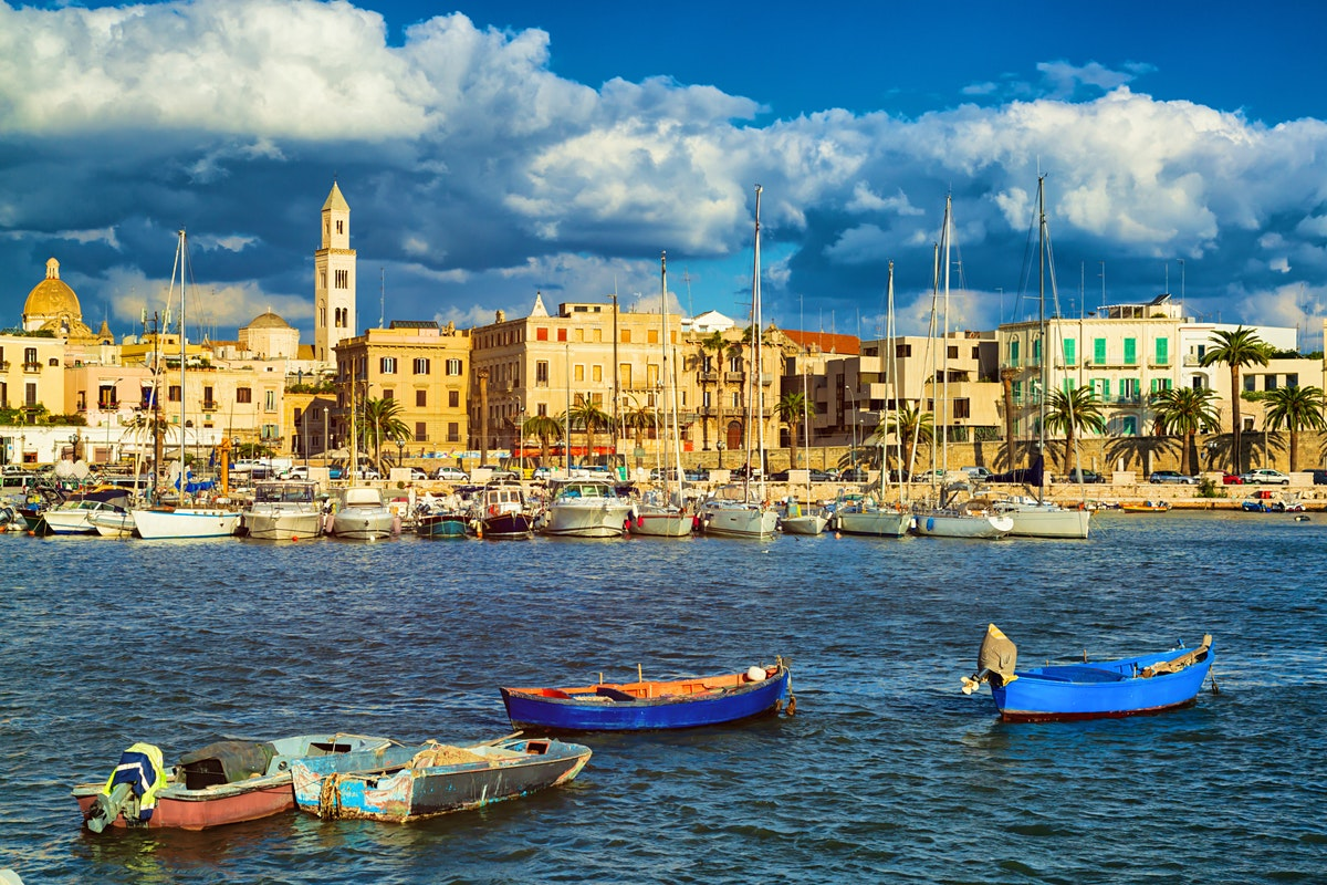 Bari travel puglia italy lonely planet for Italy b b