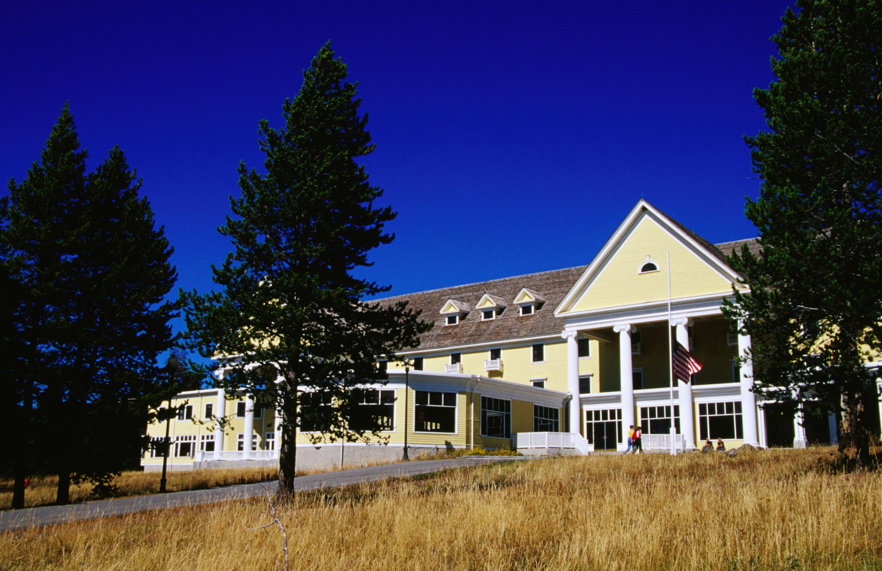 Lake Yellowstone Hotel Dining Room National