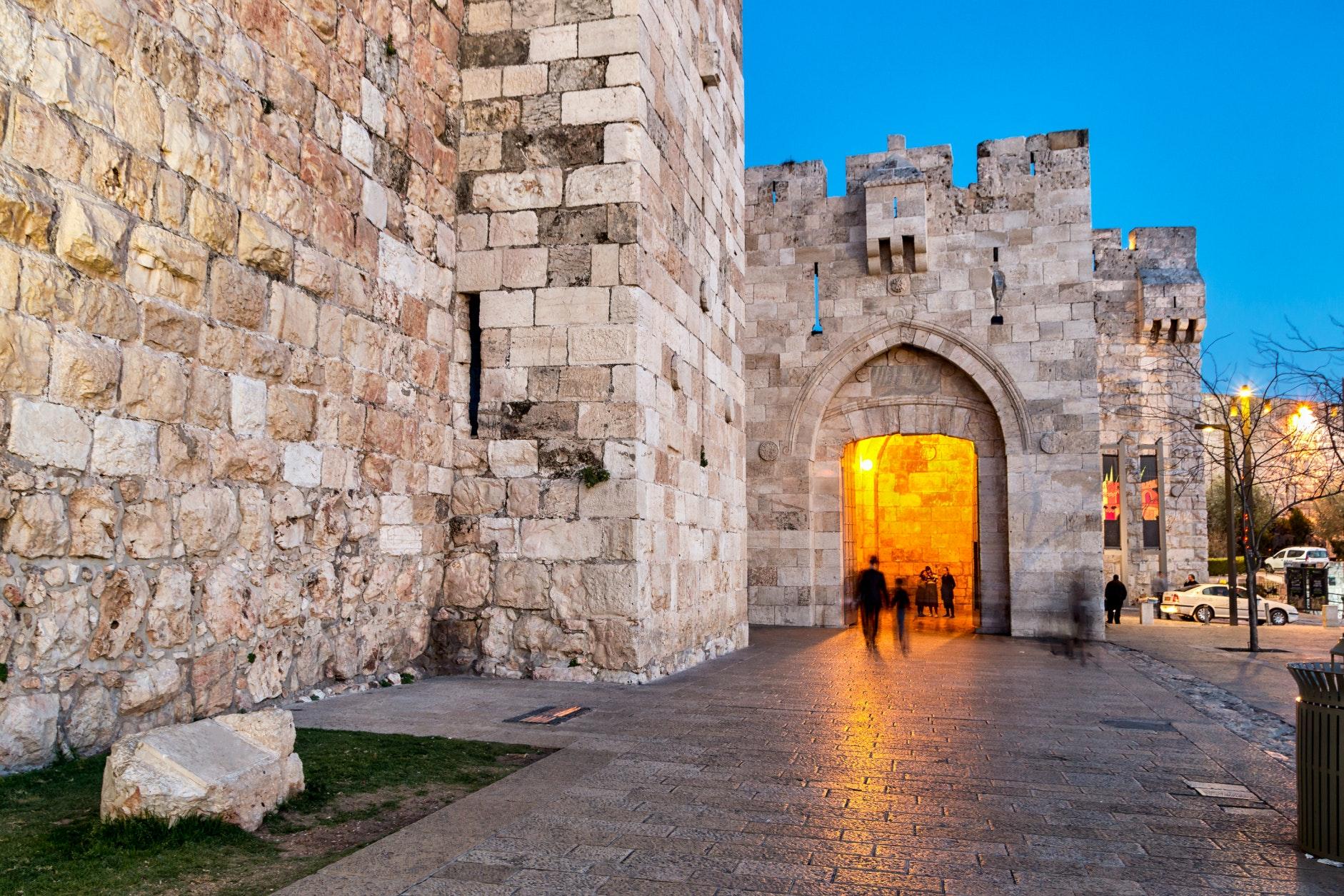 jaffa gate in jerusalem