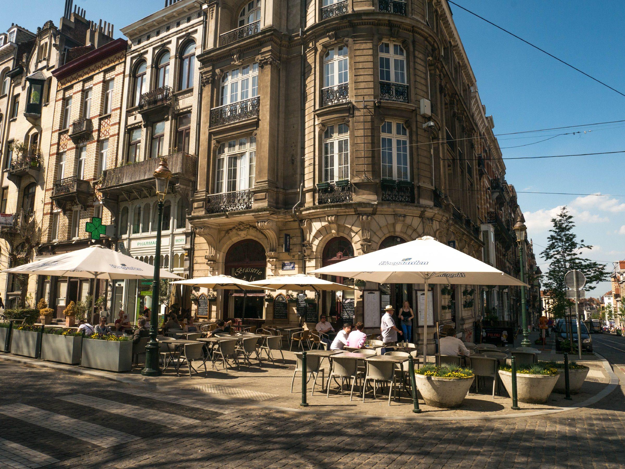 Brasserie De La Renaissance Brussels Belgium Nightlife