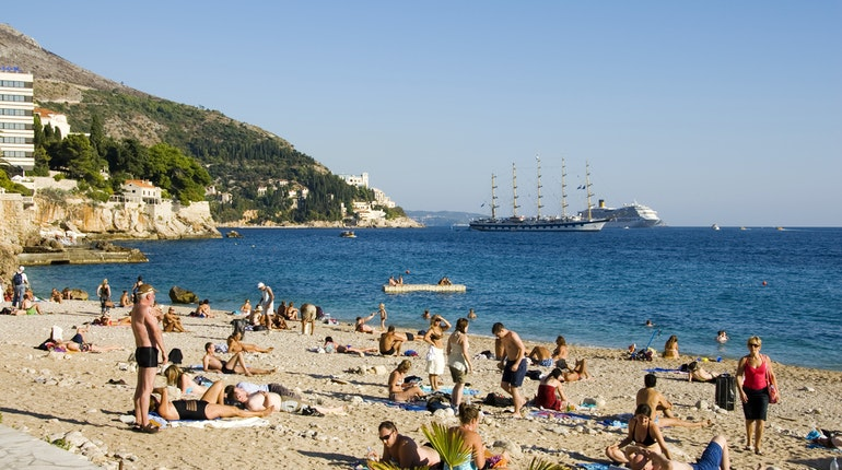 Banje Beach in Dubrovnik, Croatia - Lonely Planet