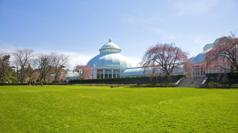 New york botanical garden in new york city usa lonely - Bronx botanical garden free admission ...