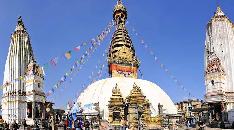 Image result for swayambhunath