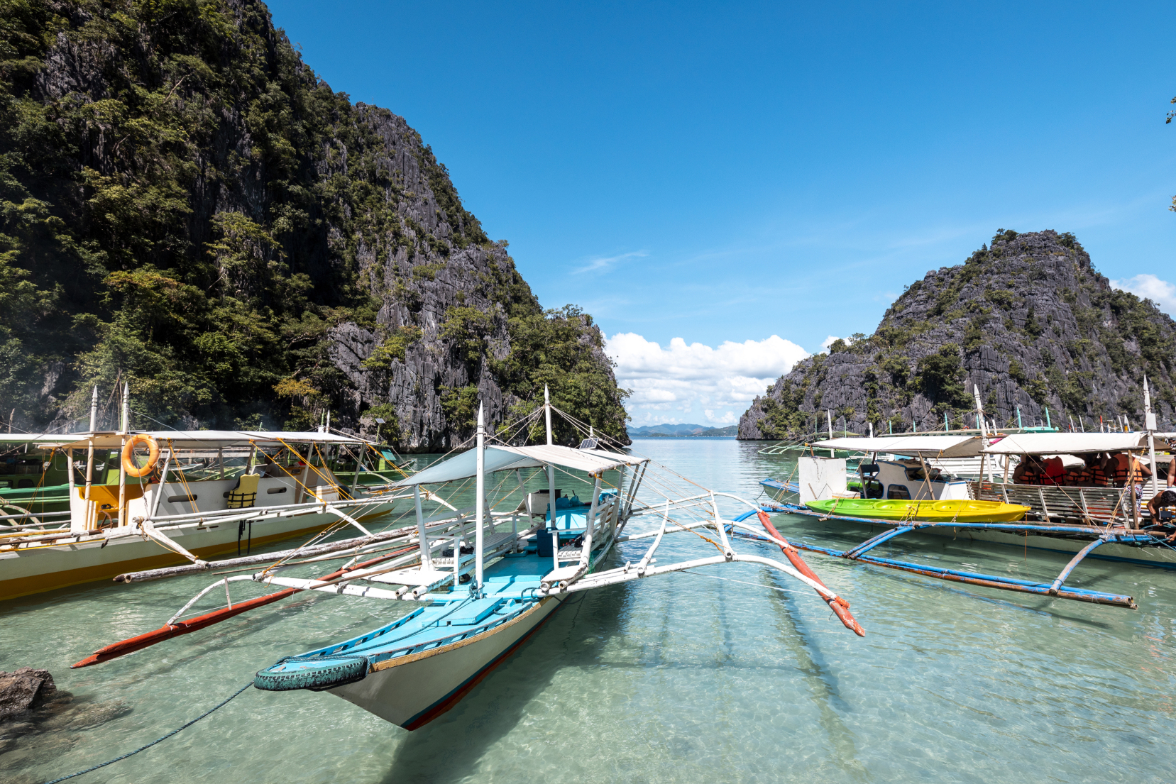 Coron Island Coron Town Philippines Attractions Lonely