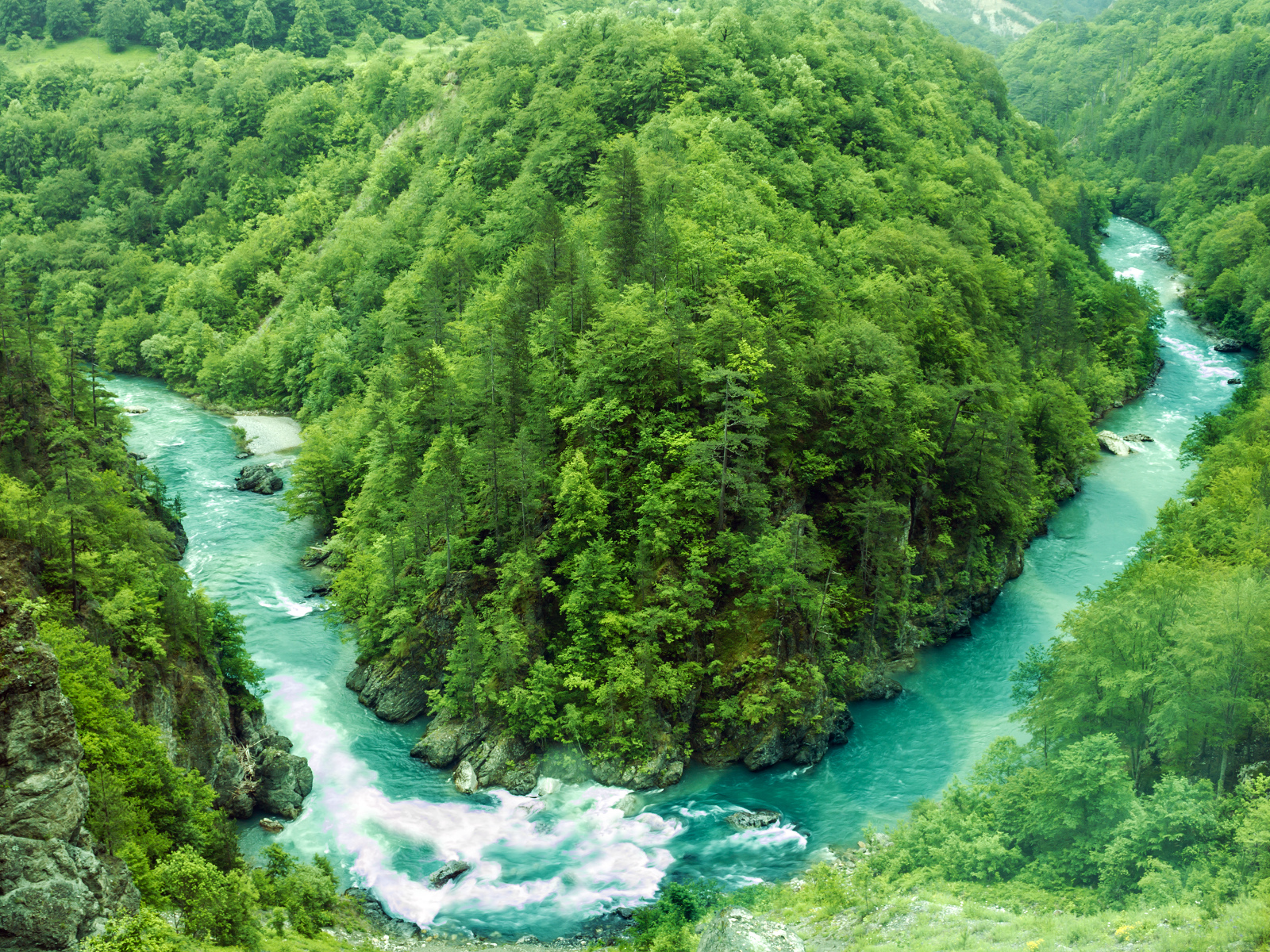 Image result for Mt Ćurevac tara river valley