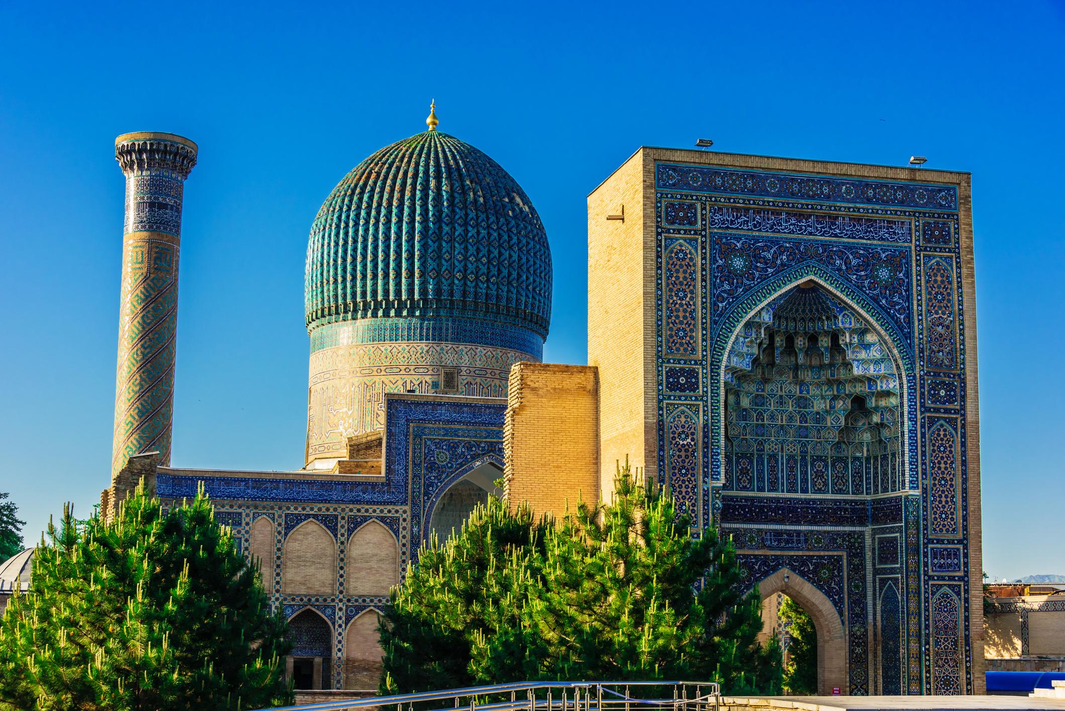 Image result for Mausoleum Guri Emir
