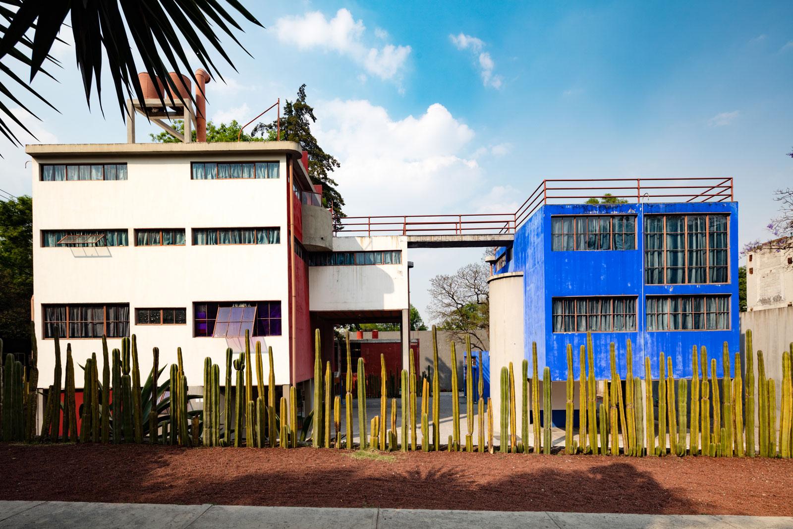 Museo.Museo Casa Estudio Diego Rivera Y Frida Kahlo Mexico City Mexico