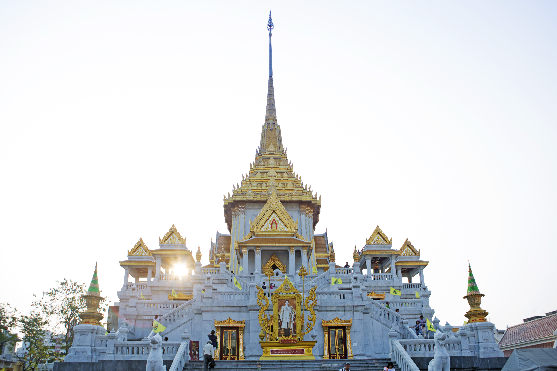 Wat Traimit Golden Buddha Bangkok Thailand