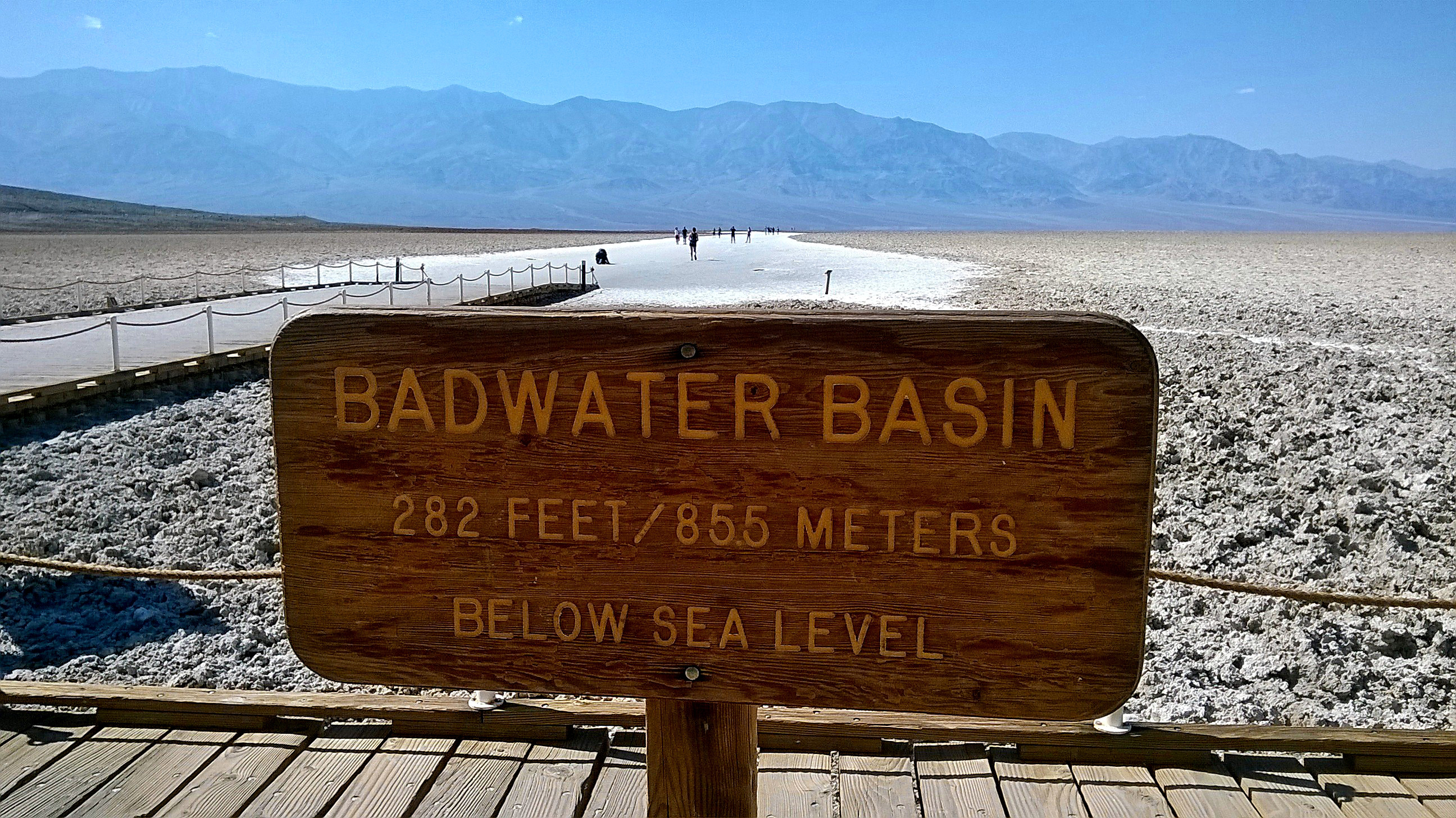 badwater basin death valley national park usa death valley