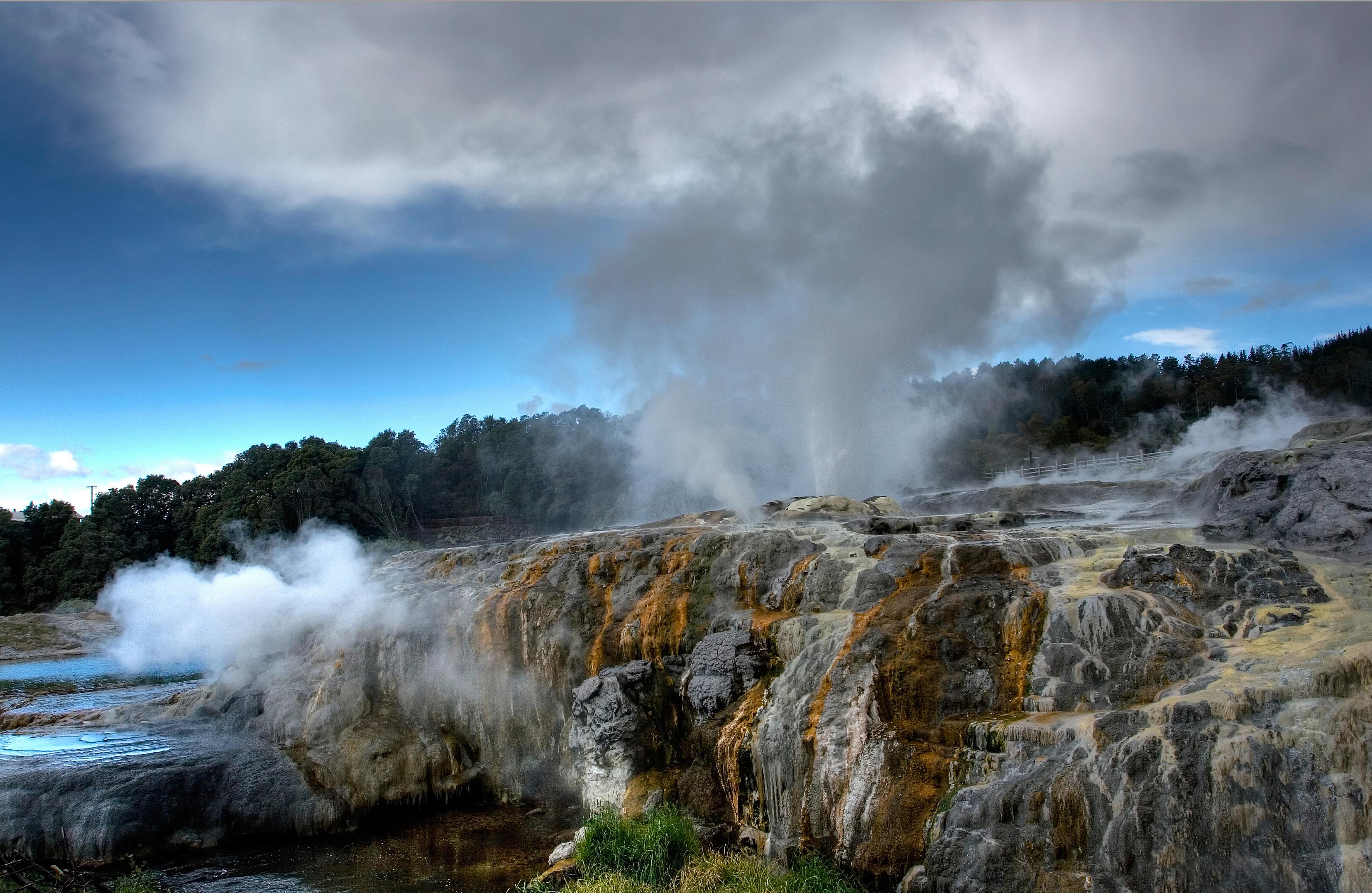 Whakarewarewa Rotorua New Zealand Attractions Lonely