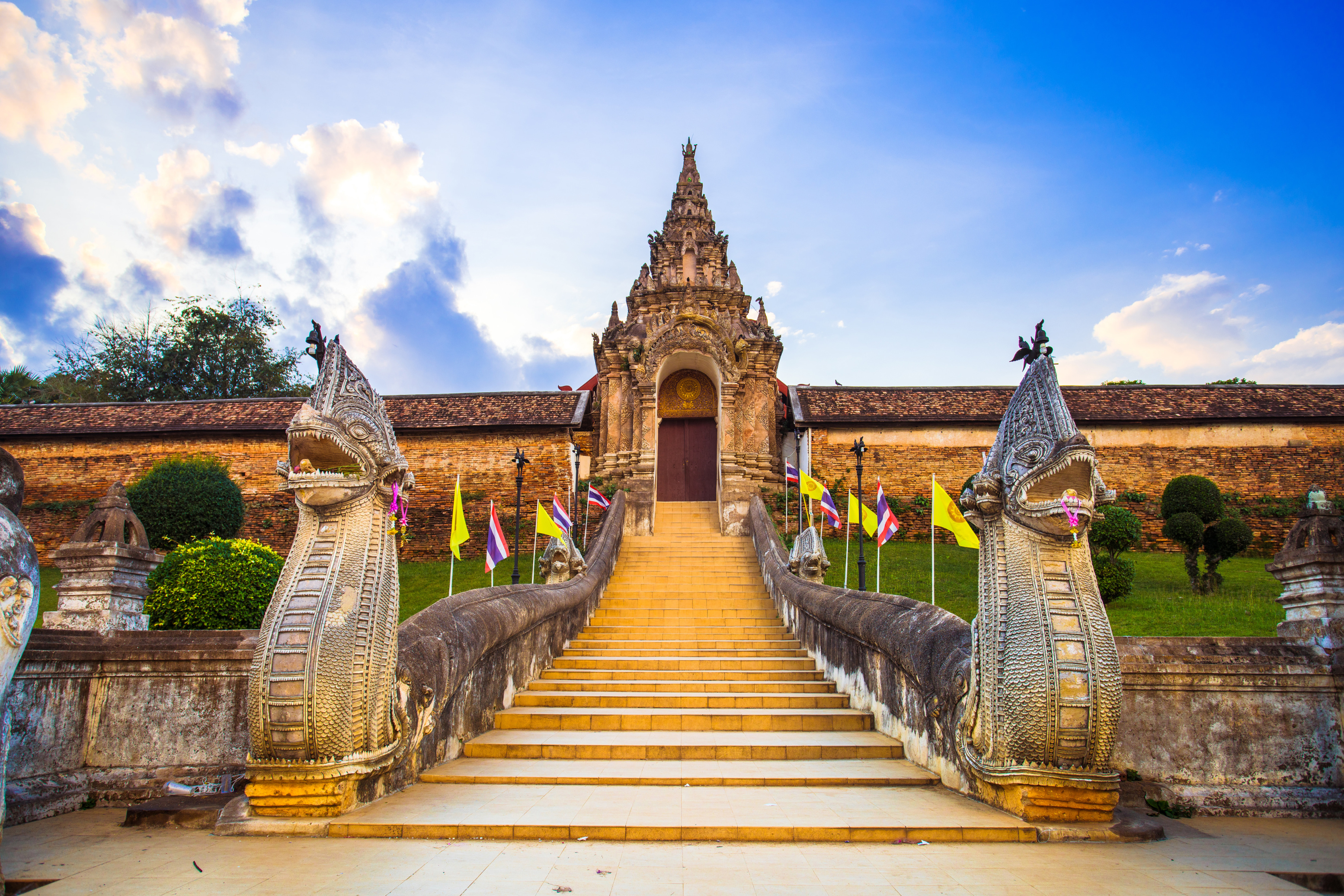 Wat Phra That Lampang Luang | Lampang Province, Thailand ...