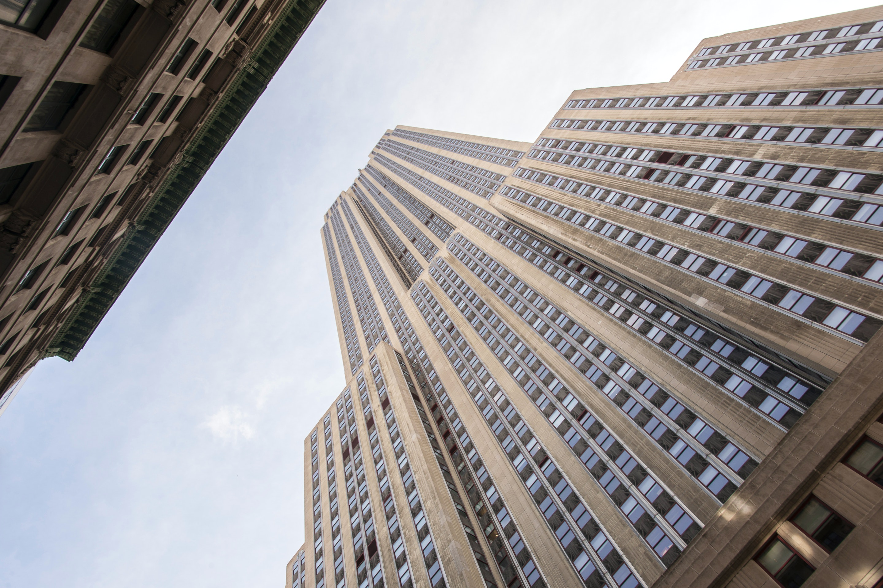 1 2 7 3 Down The Rockefeller Street: Rockefeller Center In New York City, USA