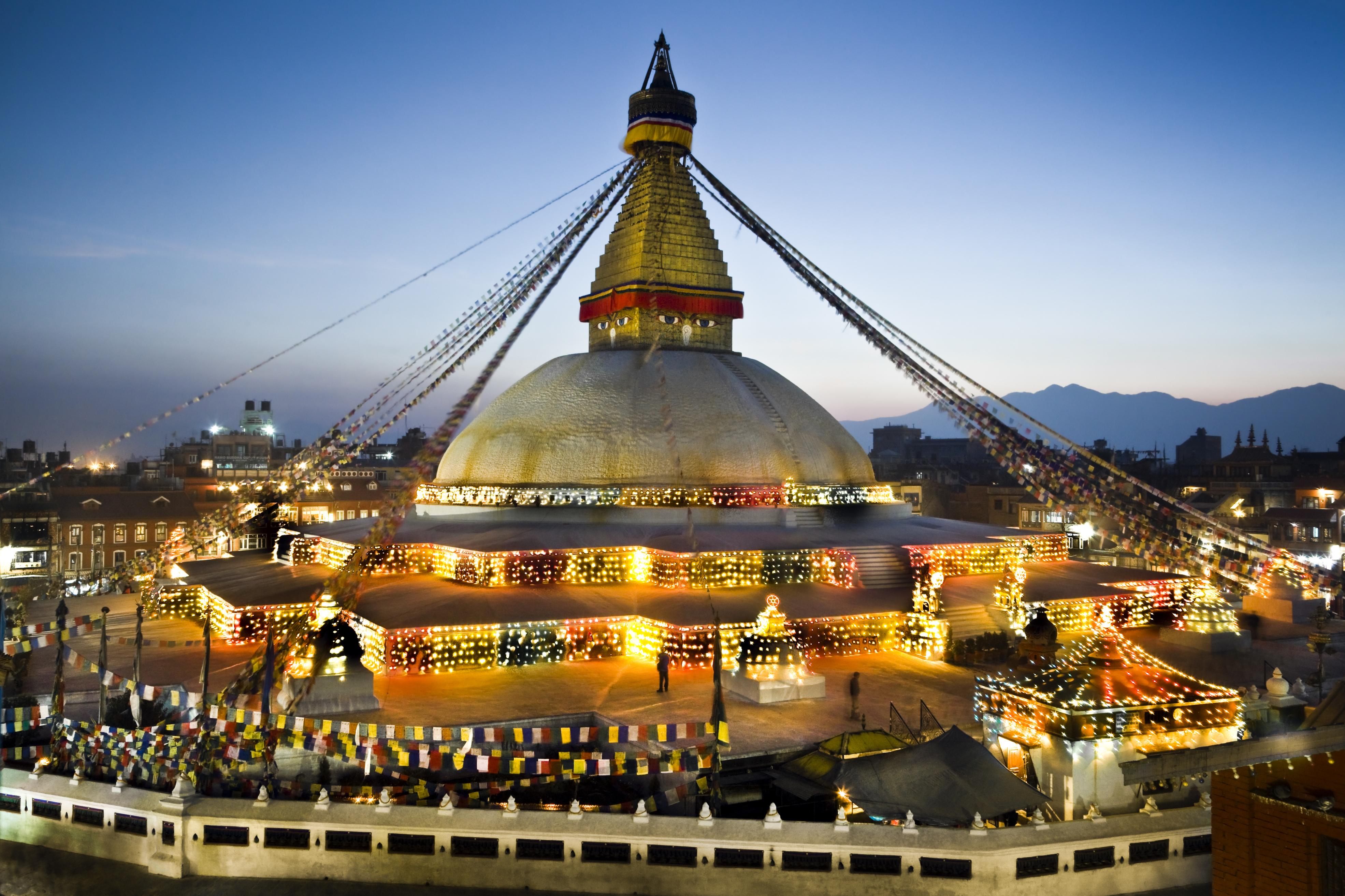 Boudhanath the stupa of Buddha