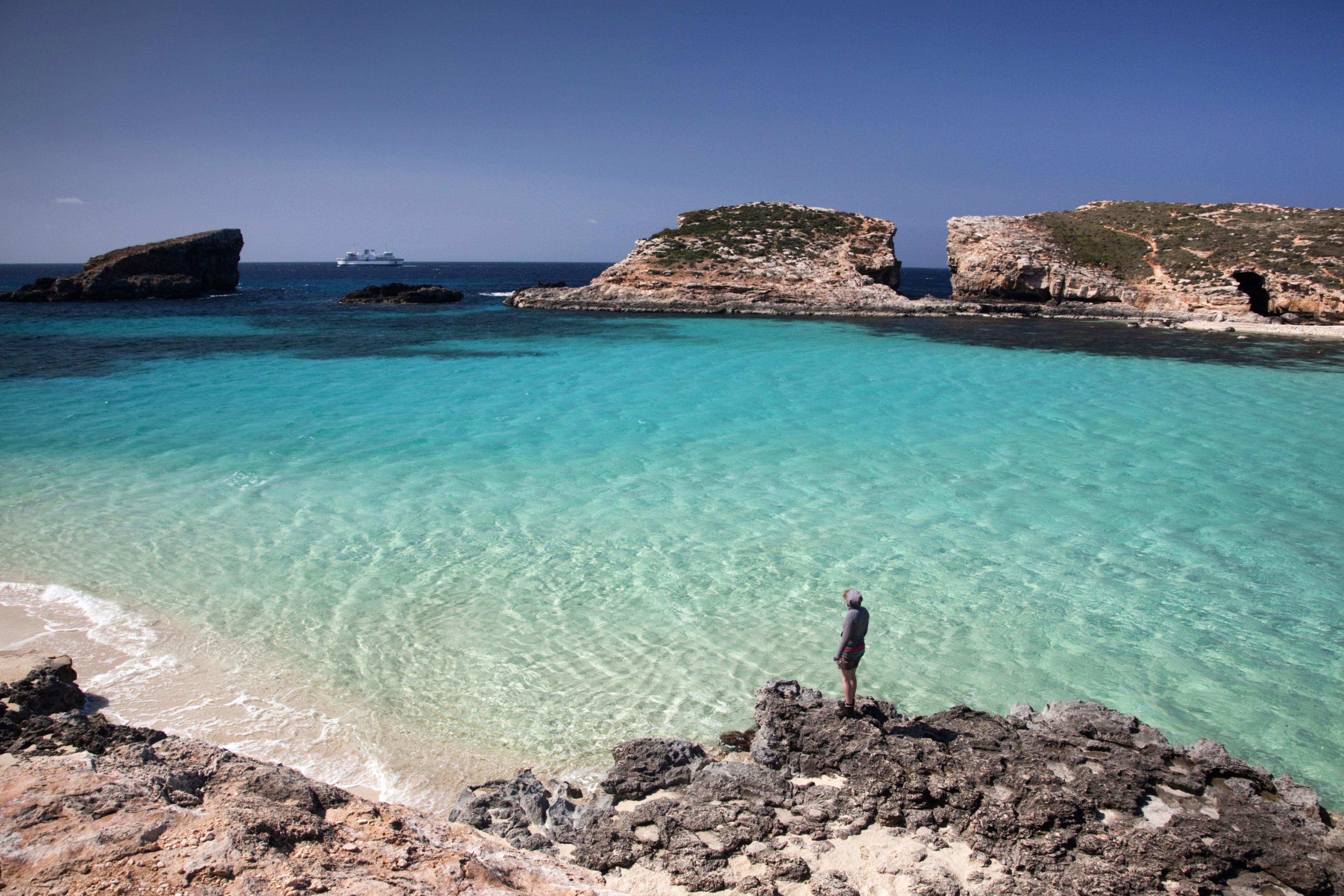 Blue Lagoon Comino Malta Comino Lonely Planet