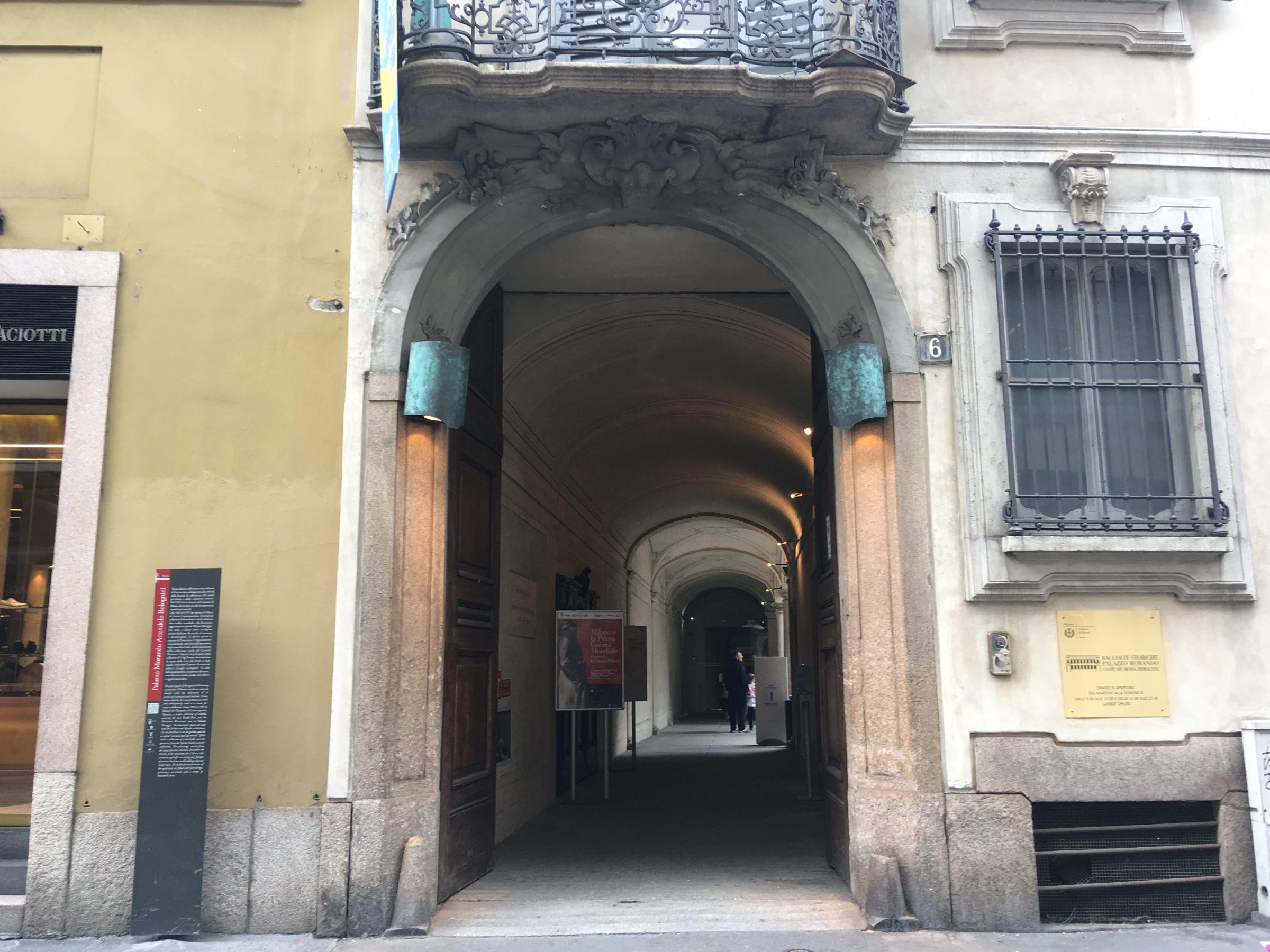 Palazzo morando costume moda immagine milan italy for Palazzo morando