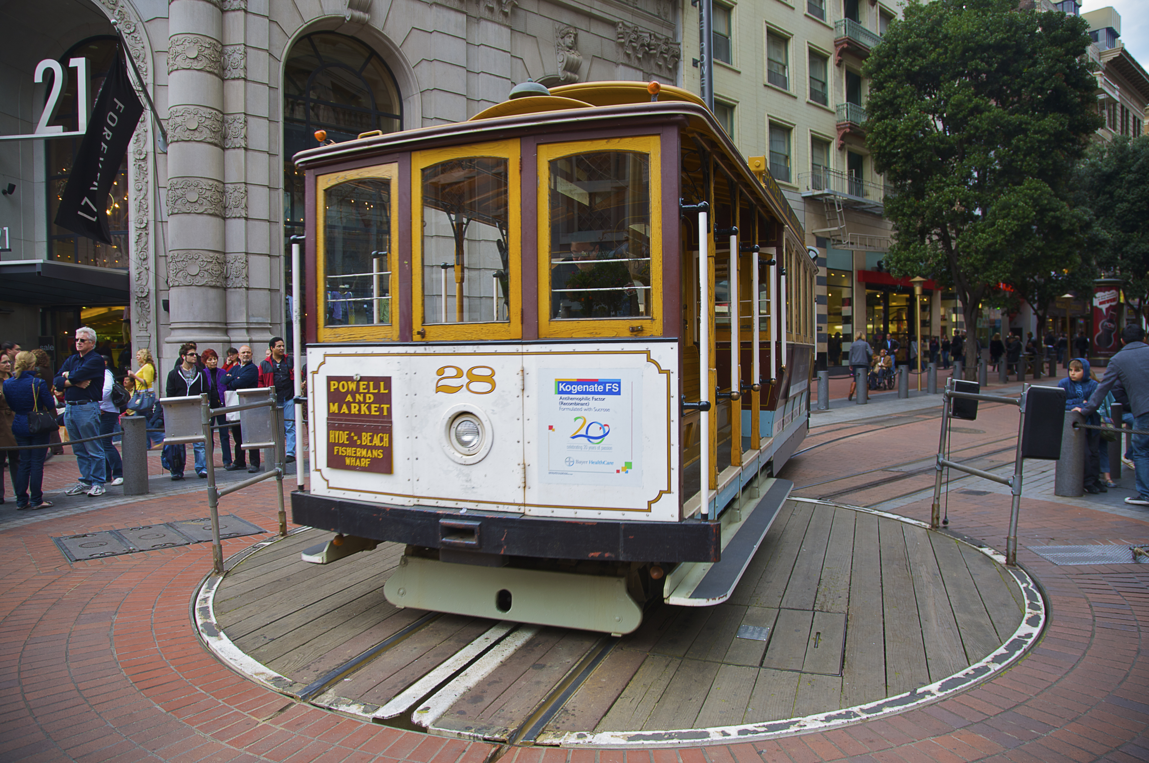 Image result for sf cable car turnaround