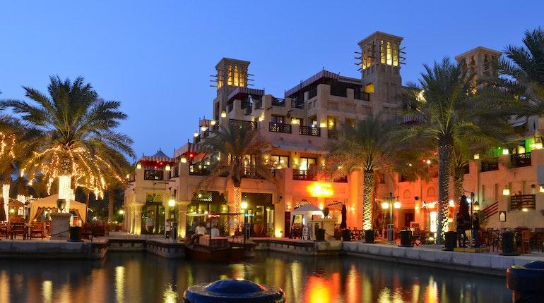 Madinat Jumeirah In Dubai United Arab Emirates