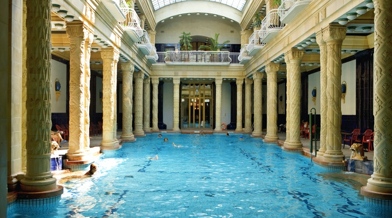 Gellért Baths in Budapest, Hungary - Lonely Planet