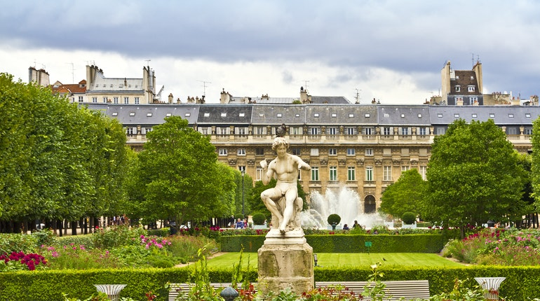 jardin du palais royal in paris france lonely planet