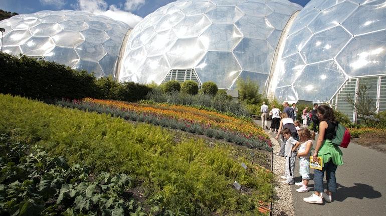 Garden Centre: Eden Project In St Austell, England