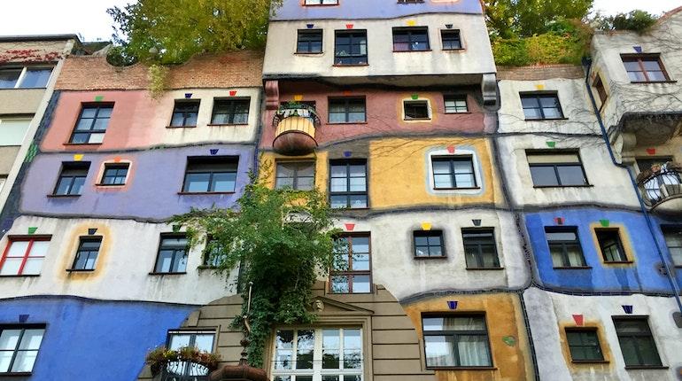 Image result for Hundertwasserhaus