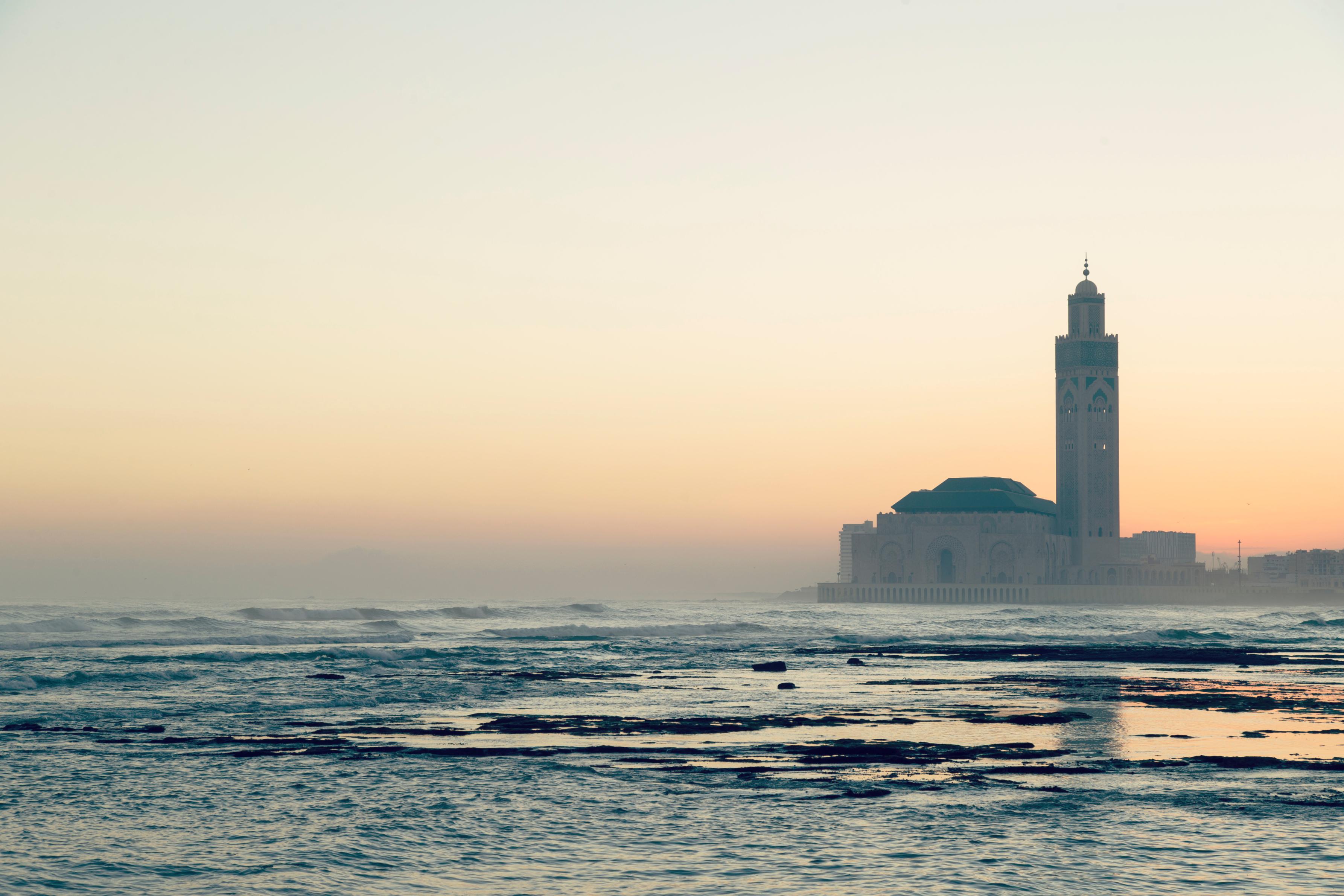 Hassan Ii Mosque Casablanca Morocco Attractions