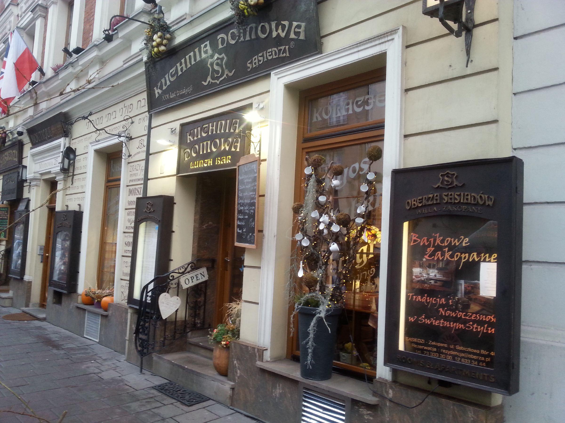 Sasiedzi Krakow Poland Restaurants Lonely Planet