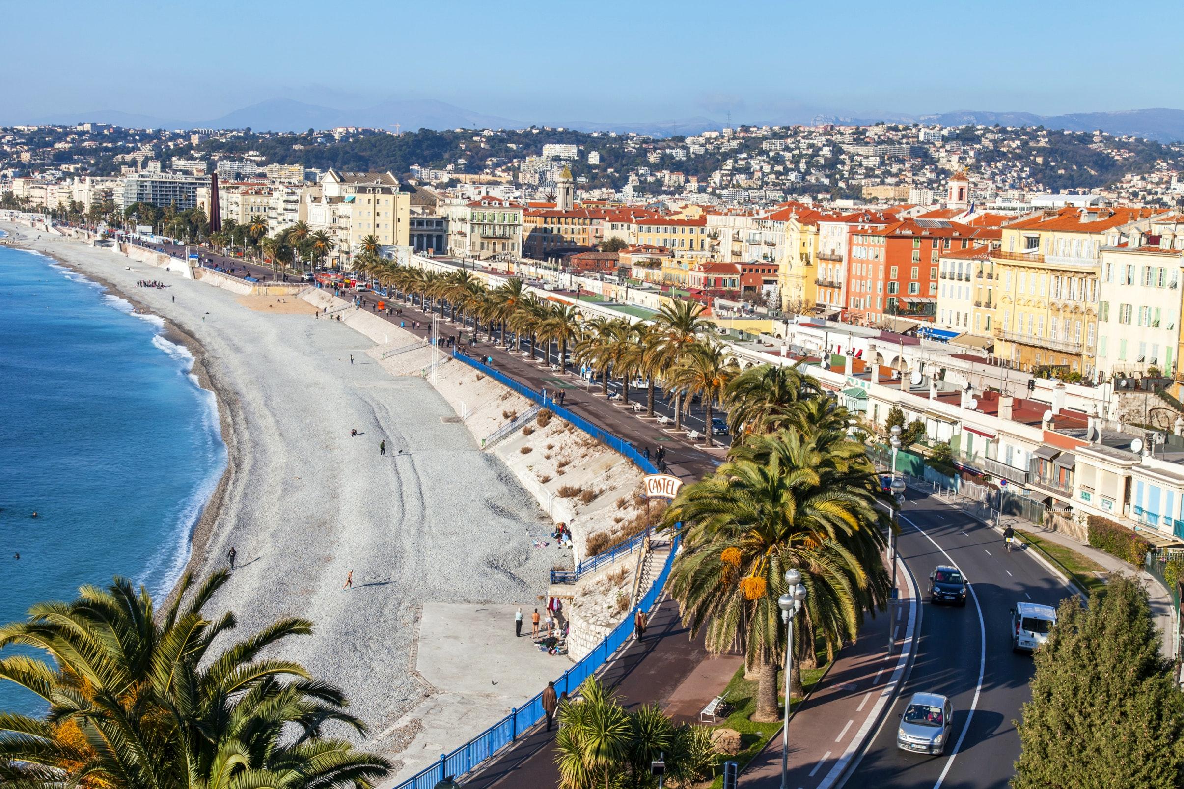 Promenade des Anglais em Nice