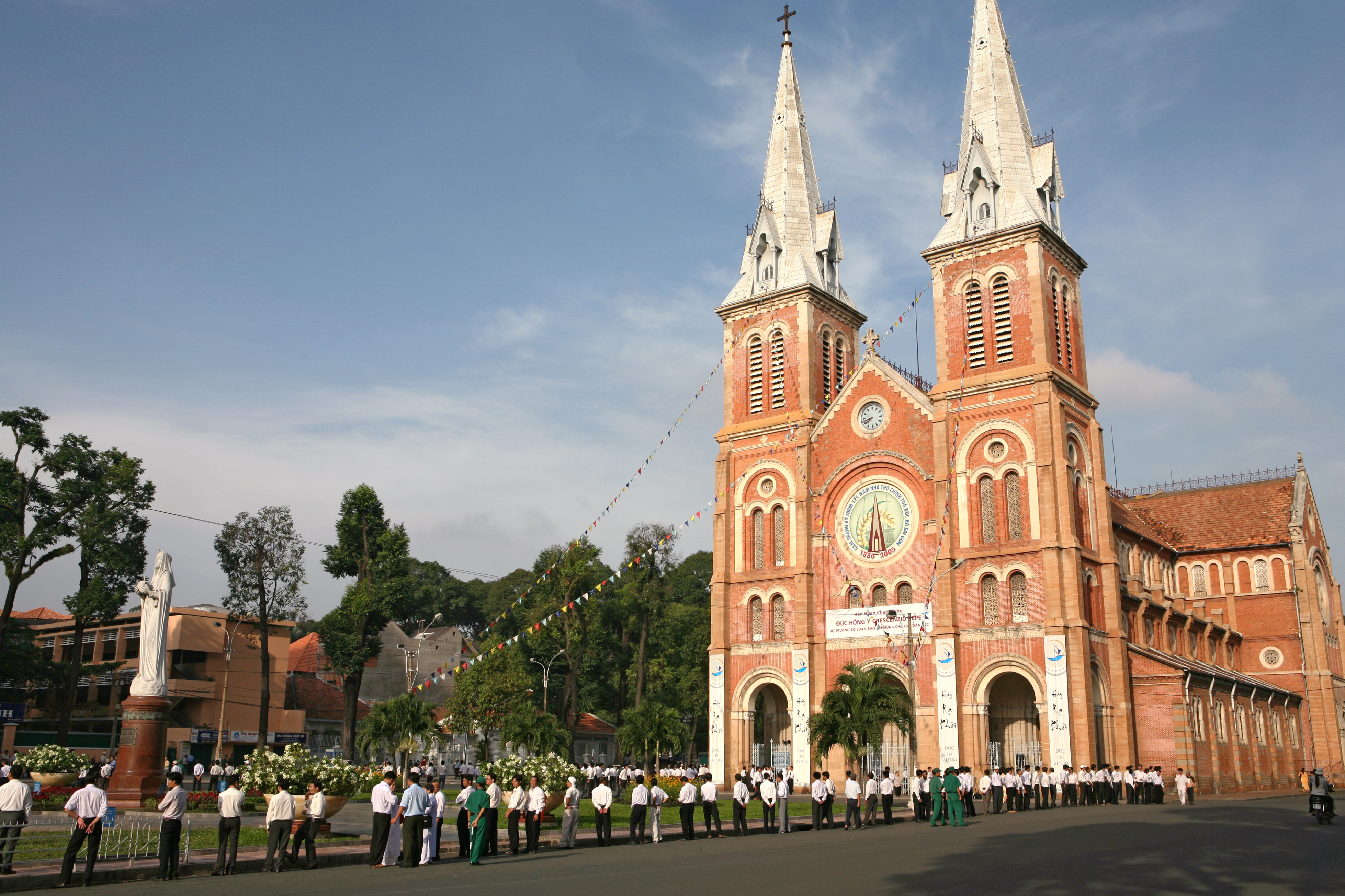 Notre Dame Cathedral Ho Chi Minh City Vietnam