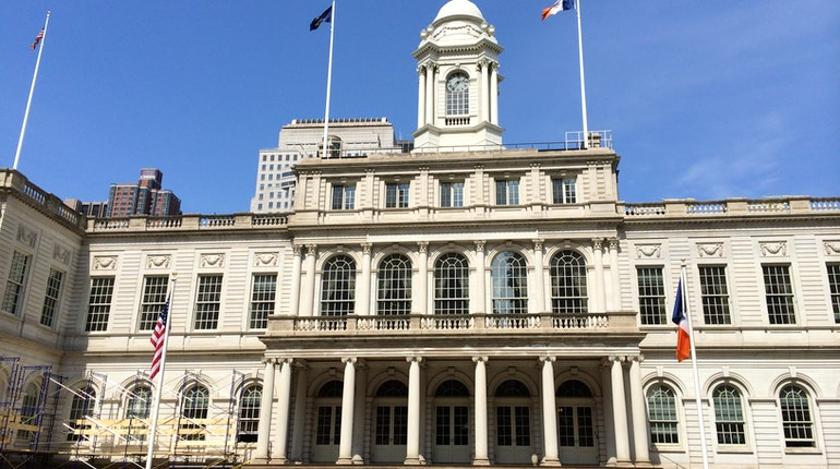 City hall in new york city usa lonely planet for Missouri s t dining hall hours