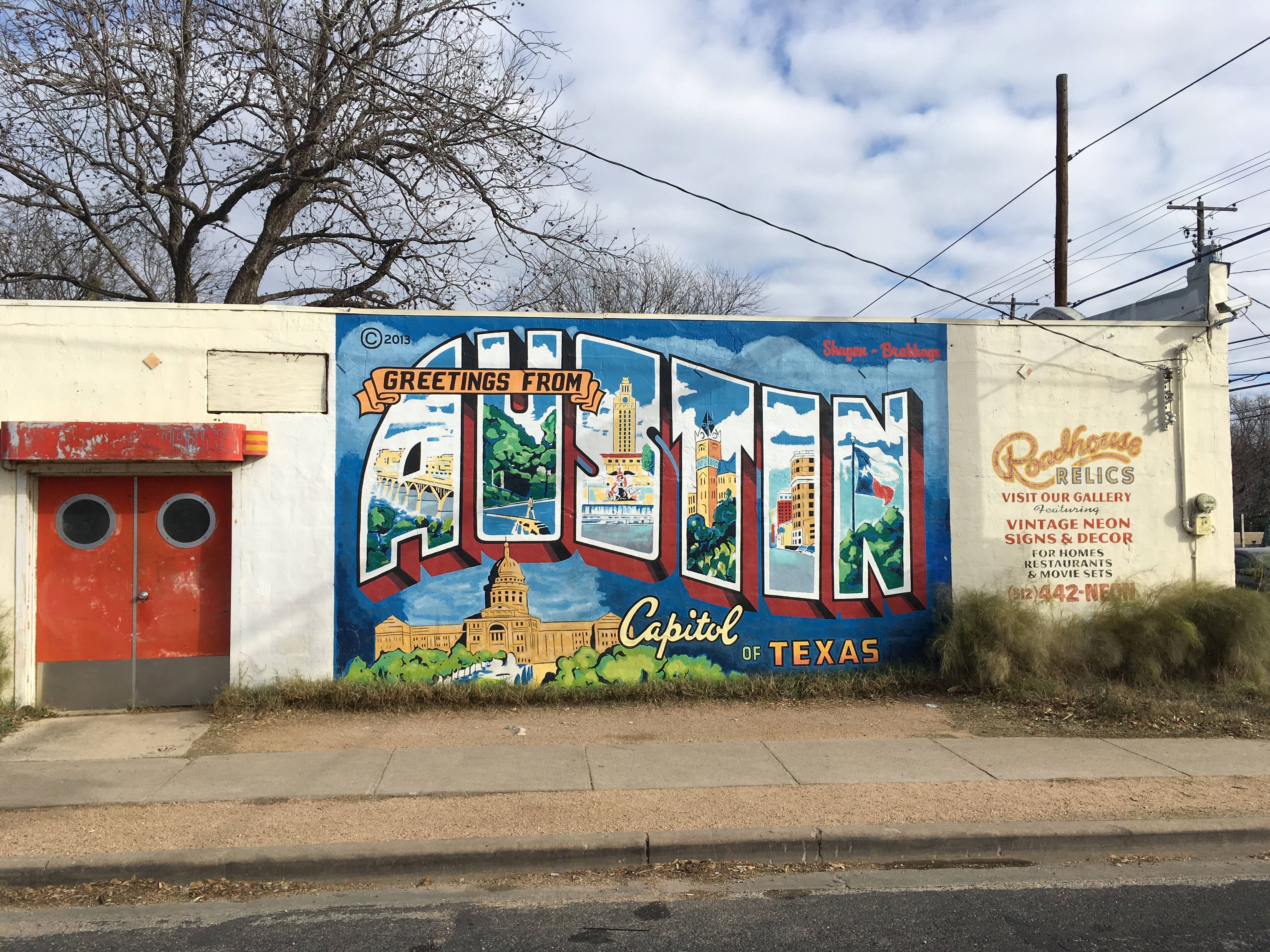 Greetings From Austin Mural Lonely Planet