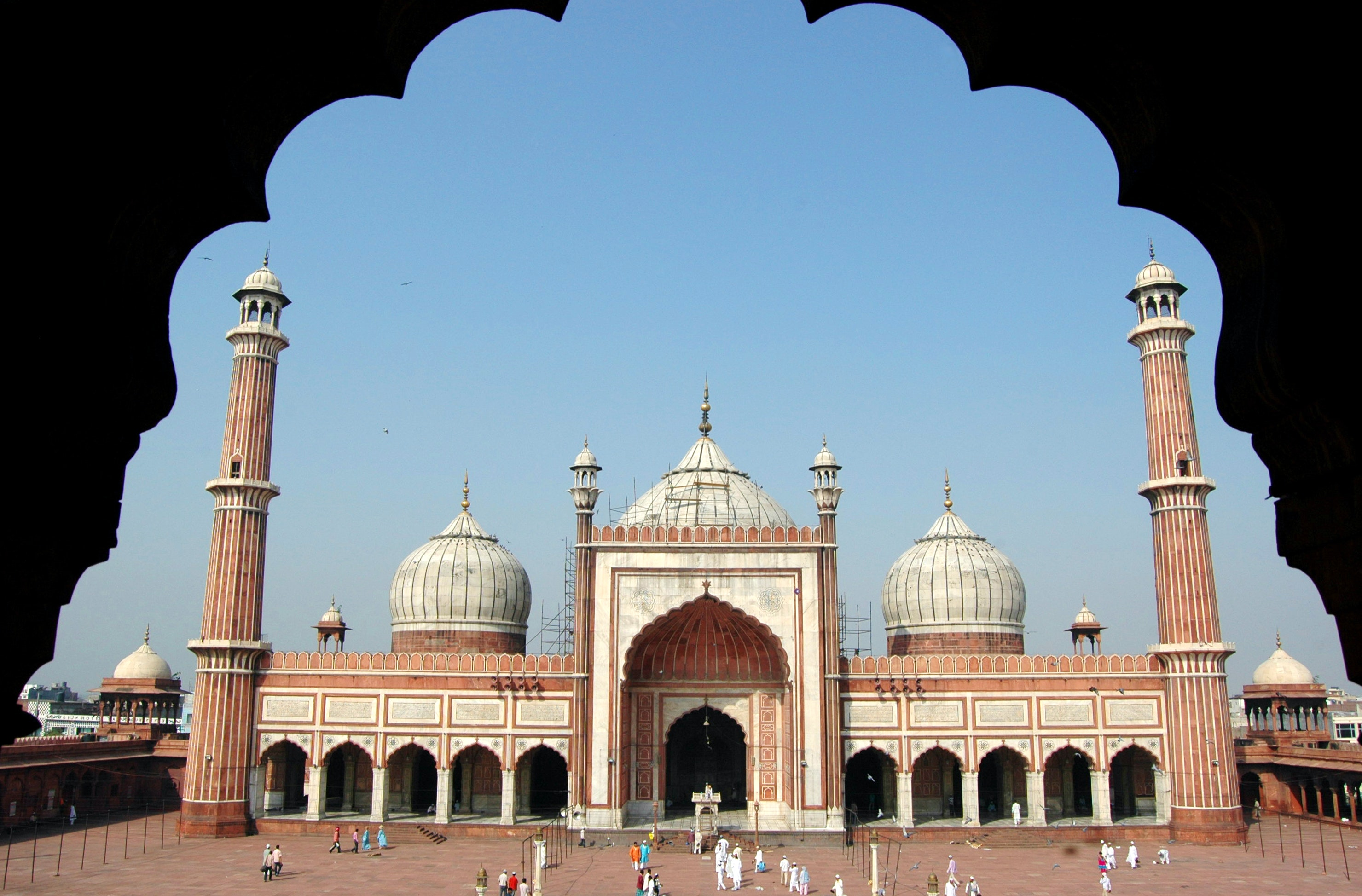 Jama Masjid In Delhi India Lonely Planet