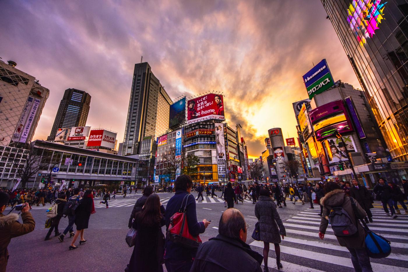 Resultado de imagen para Shibuya Crossing