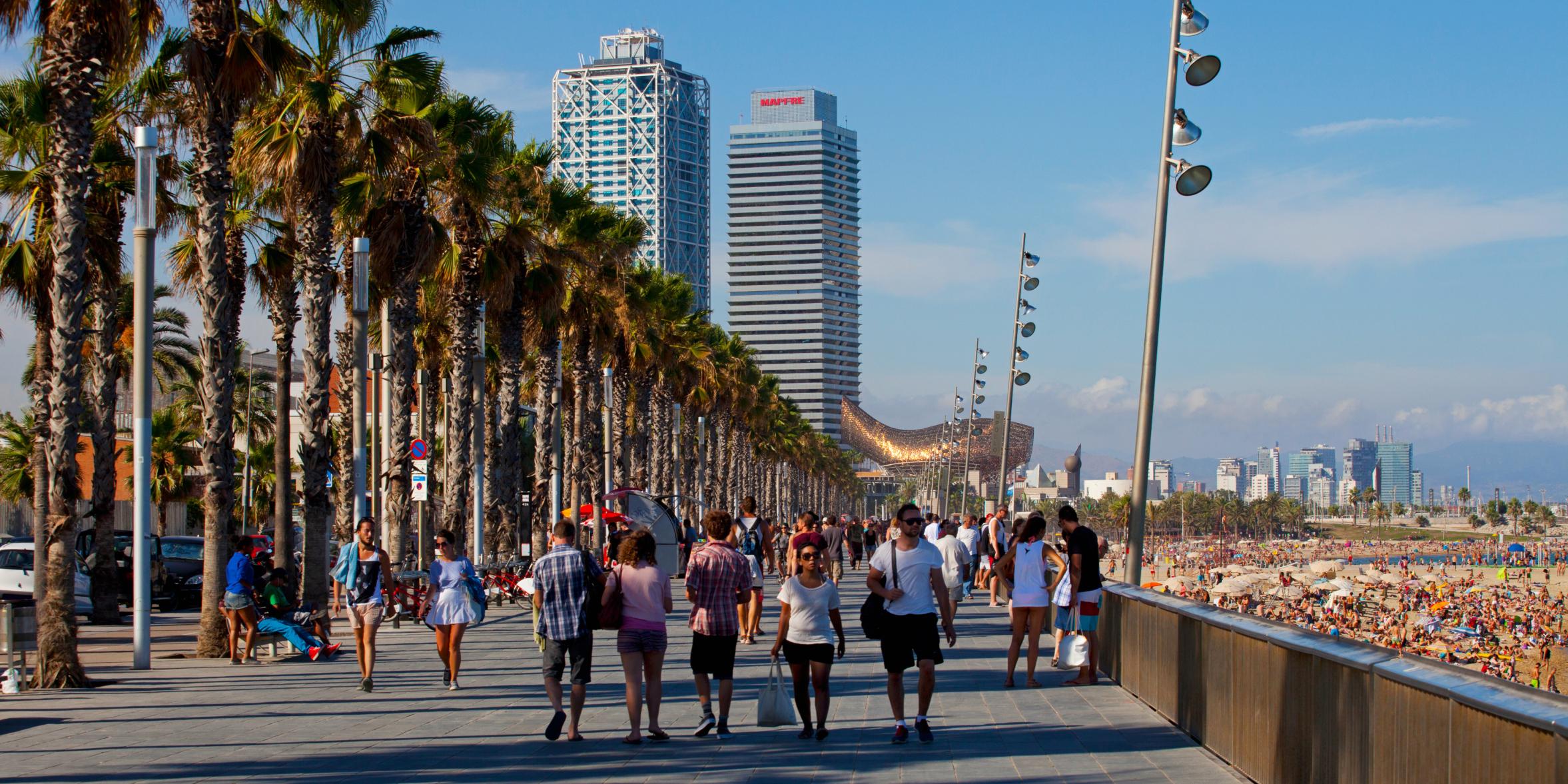 Resultado de imagen de La Barceloneta