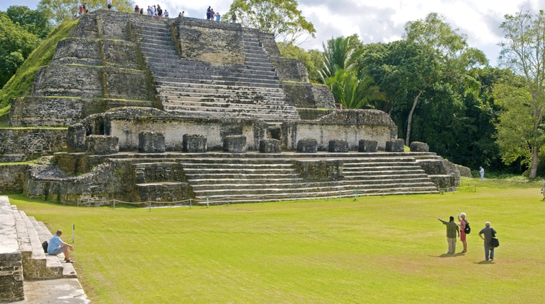 Altun Ha In Old Northern Highway Lonely Planet