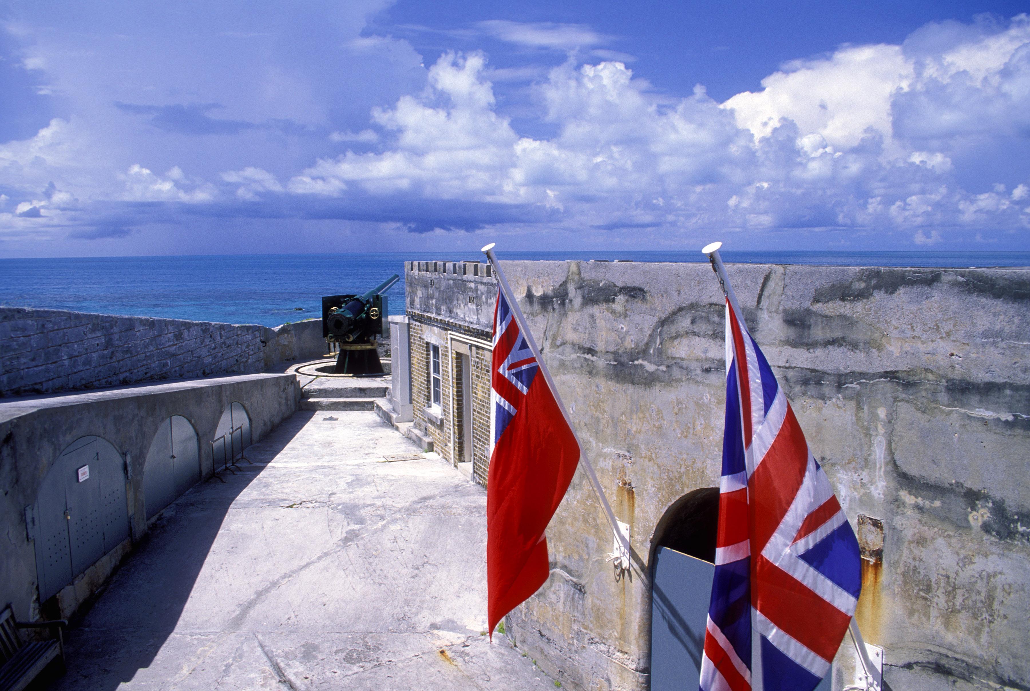 Bermuda Car Rental >> Fort St Catherine | St George's Parish, Bermuda ...