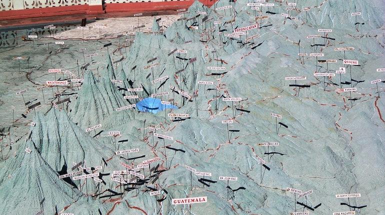 Mapa en Relieve in Guatemala City Guatemala  Lonely Planet