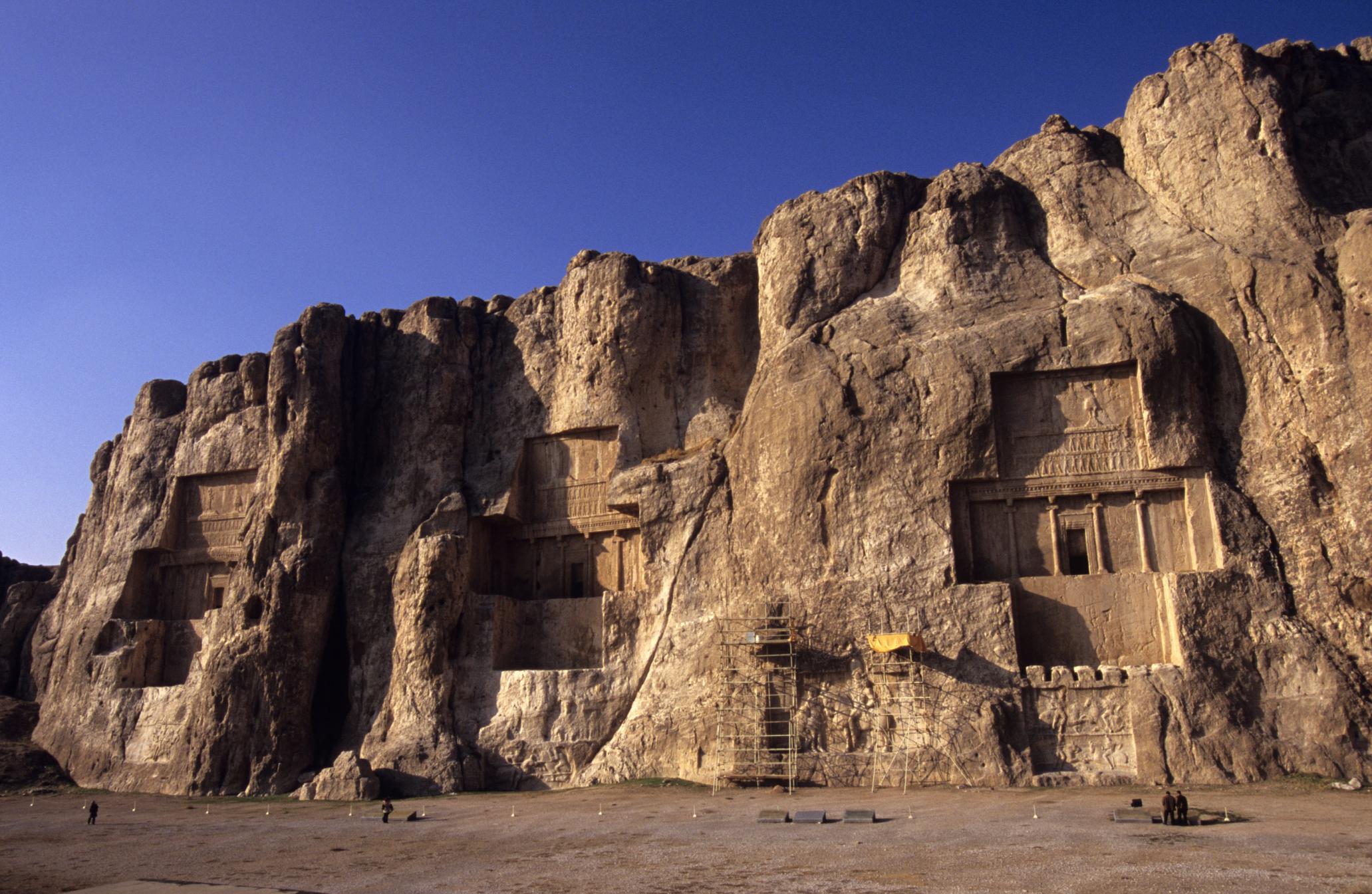 Naqsh-e Rostam | Naqsh-e Rostam & Naqsh-e Rajab, Iran Naqsh-e Rostam