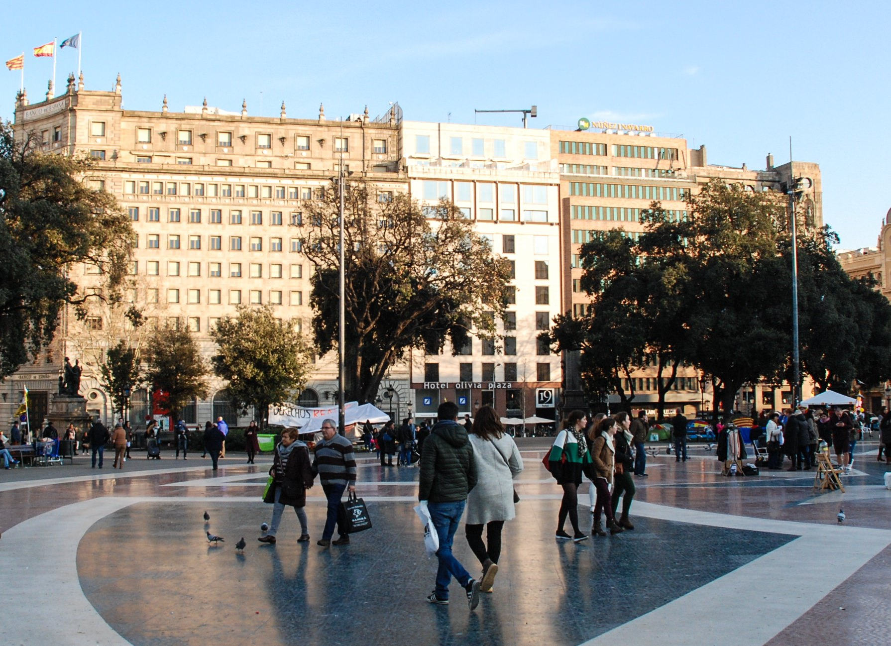 Placa De Catalunya Barcelona Spain Attractions Lonely Planet