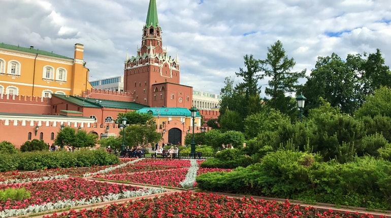 Alexander Garden In Moscow Russia Lonely Planet