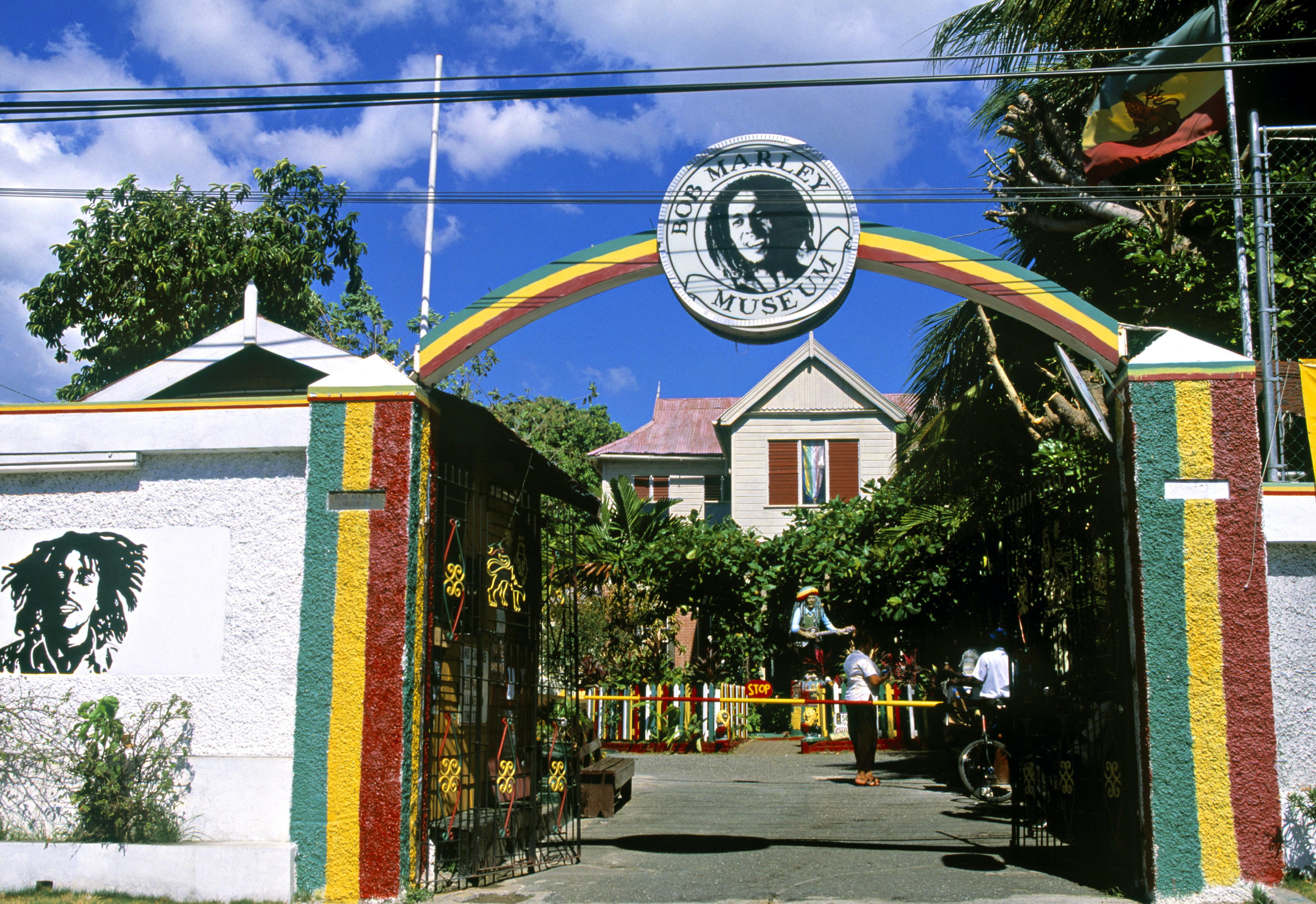 bob marley museum in kingston  jamaica